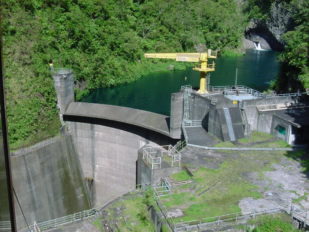 Barrage Hydroélectrique De Takamaka Ii Wikipédia