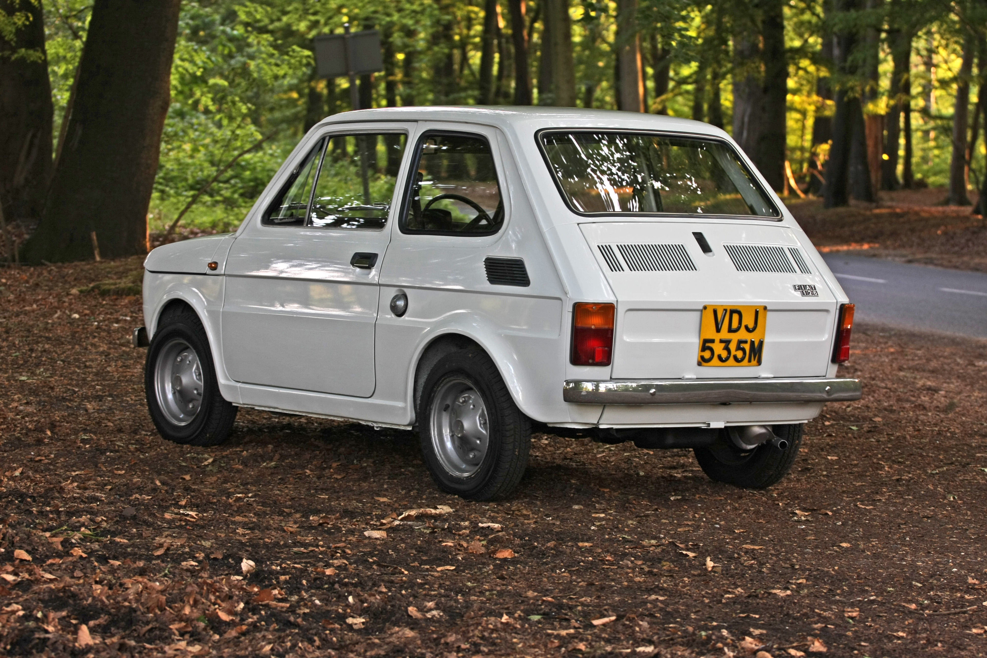 File White Left Hand Drive Fiat 126 Produced In 1973 8 Jpg