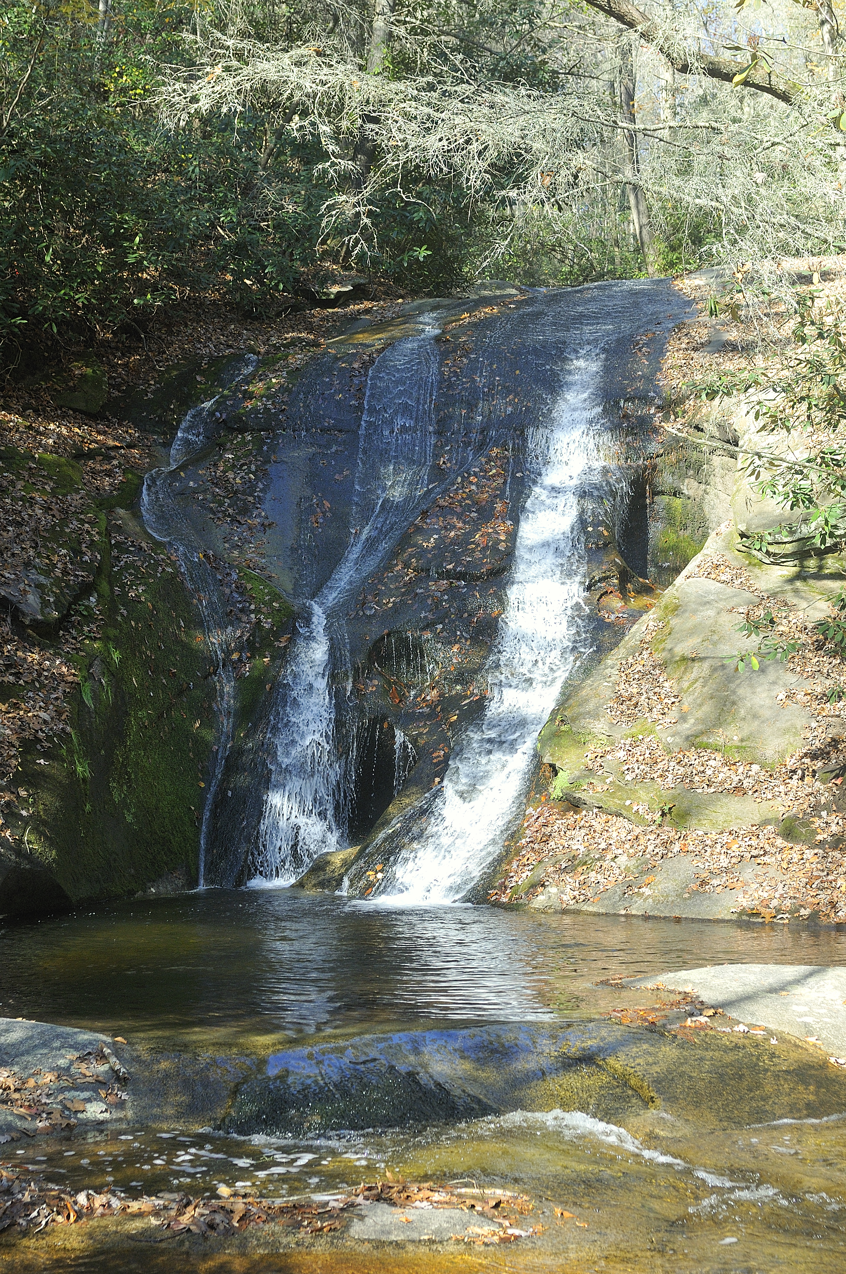File Widow Creek Falls Stone Mountain State Park North Carolina