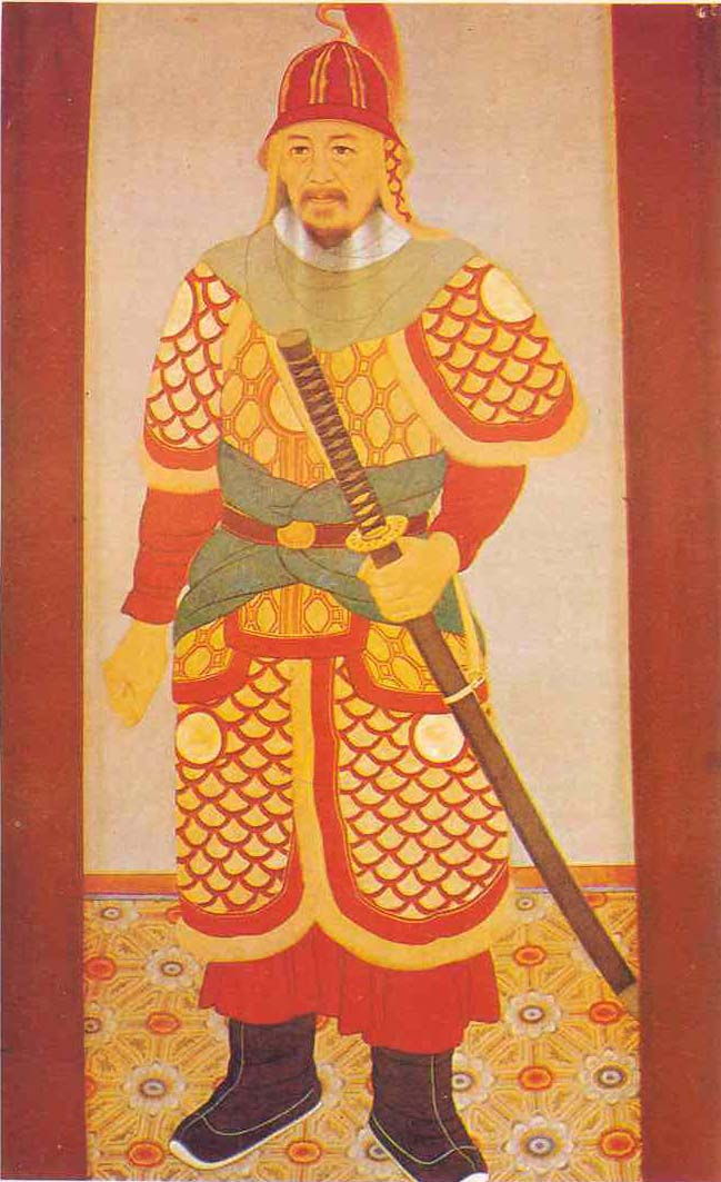 Depiction of Yi Sun Sin