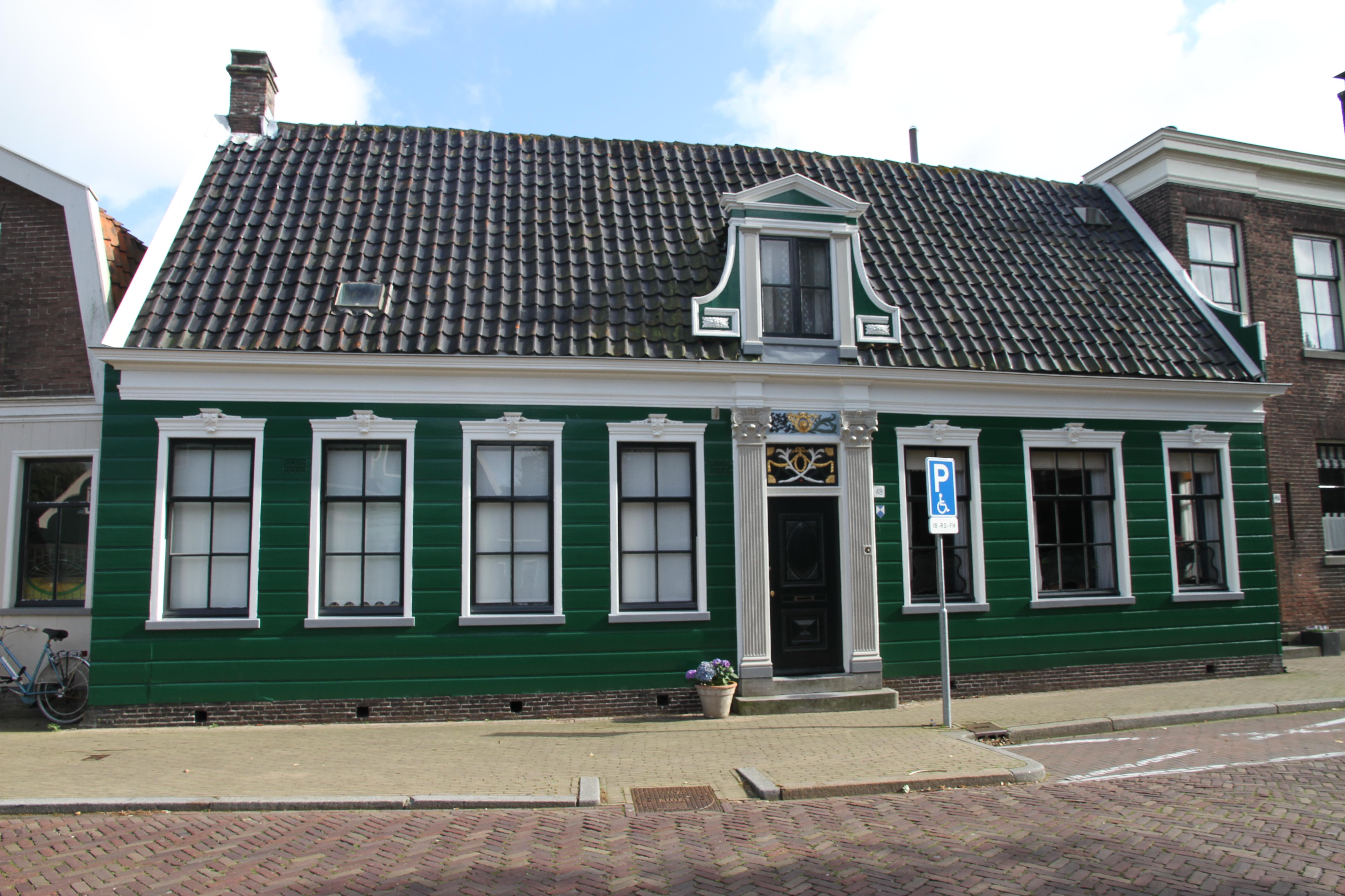 Houten huis in zaandijk monument - Houten huis ...