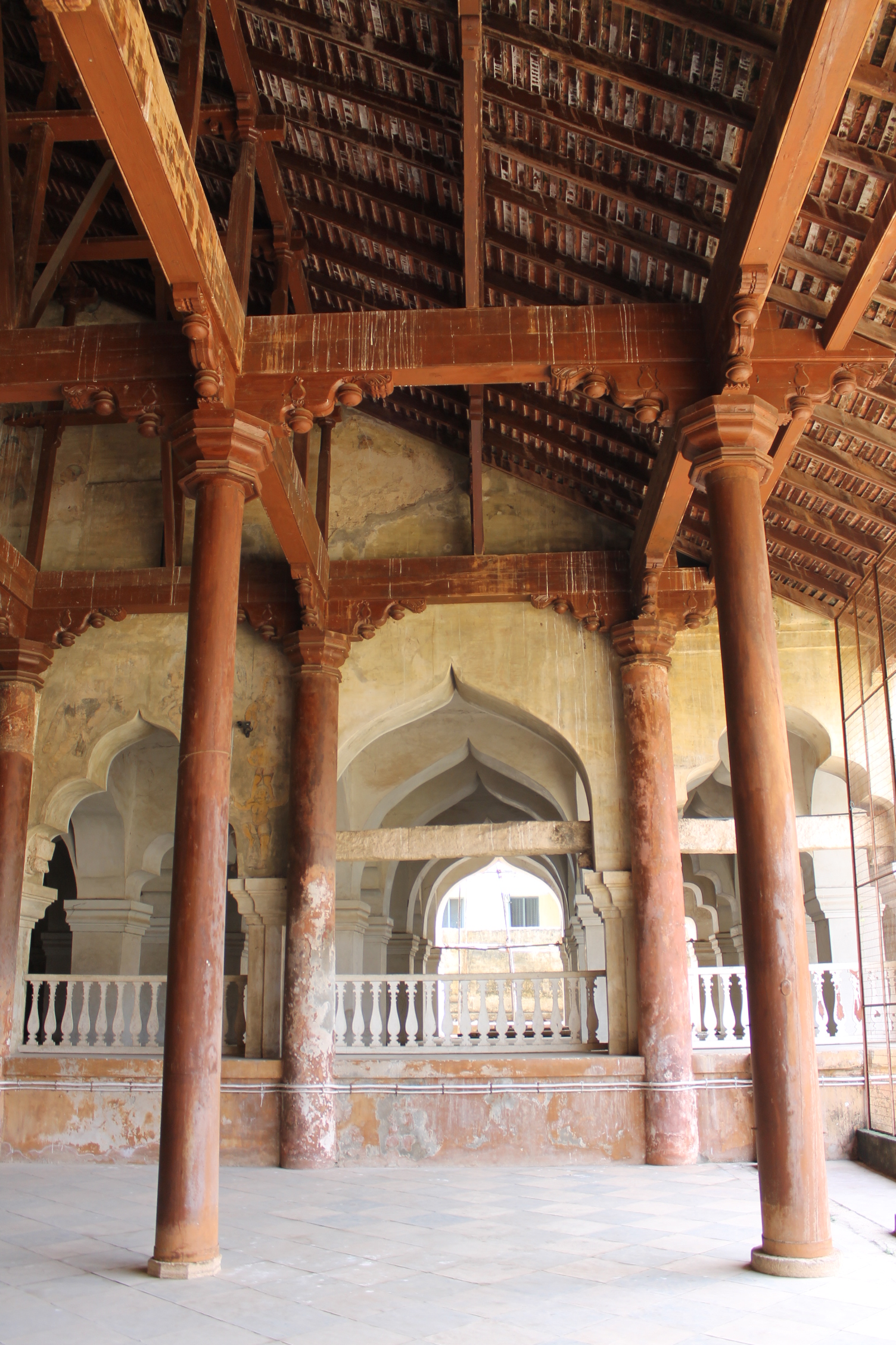 """Traditional Construction file:""""amazing traditional construction in thanjavur palace"""""""