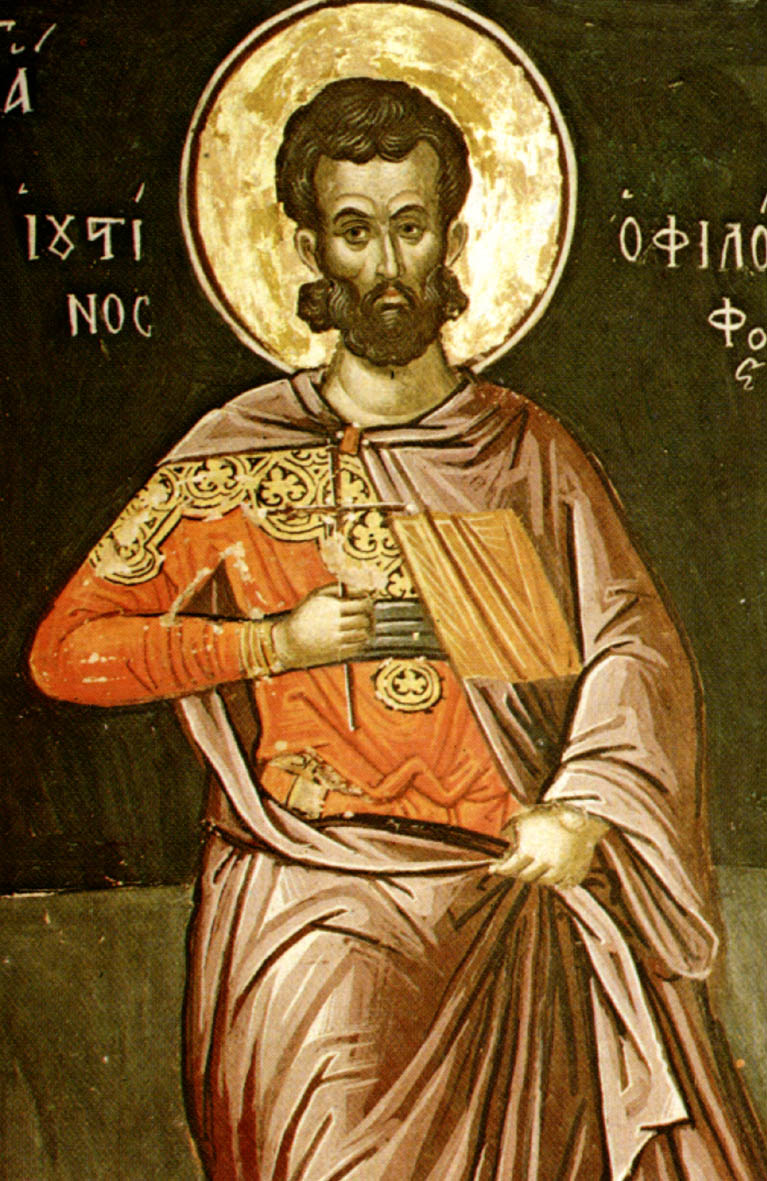 justin martyr writings P 159 introductory note to the writings of justin martyr [ad 110–165] justin was a gentile, but born in samaria, near jacob's well he must have been well.