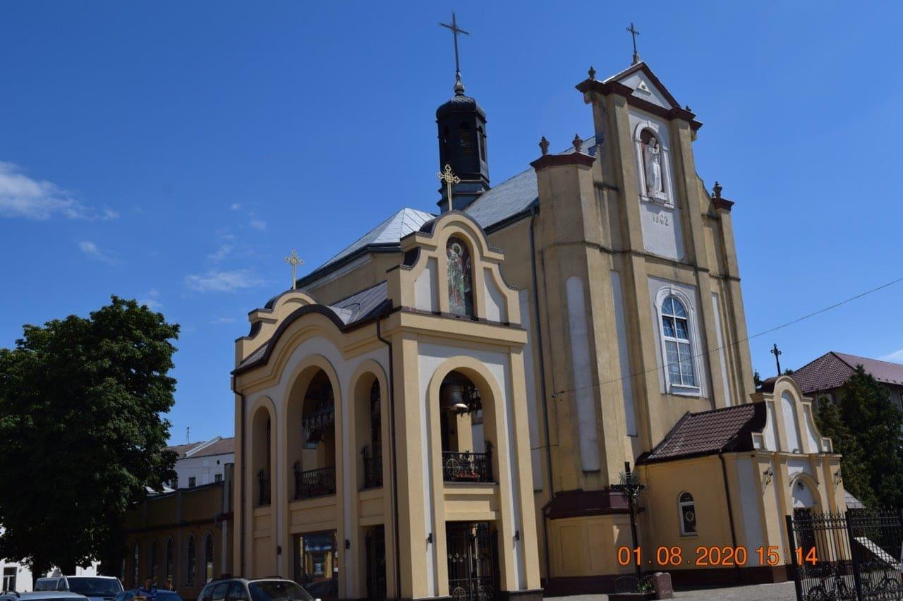 File:Церква св. Йосафата та її дзвіниця,вул Мазепи,2, м.Коломия.jpg - Wikimedia Commons