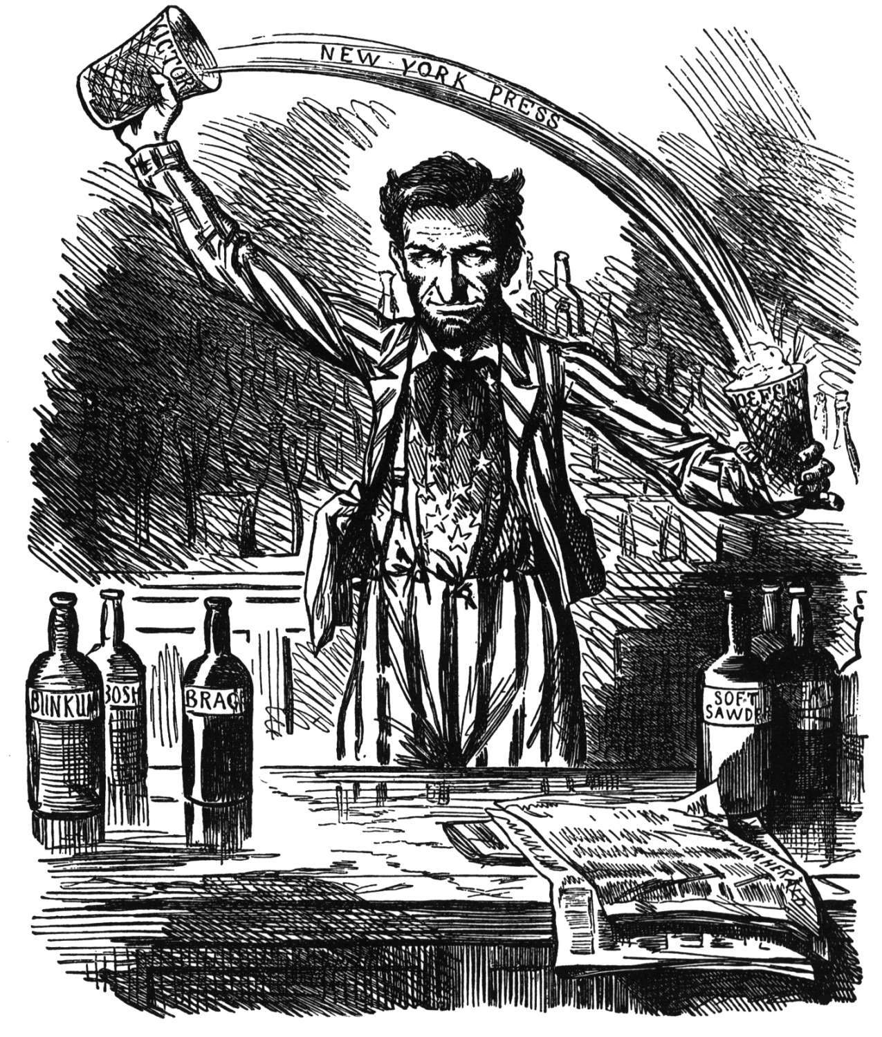 file political cartoon lincoln spins the news jpg file 1862 political cartoon lincoln spins the news