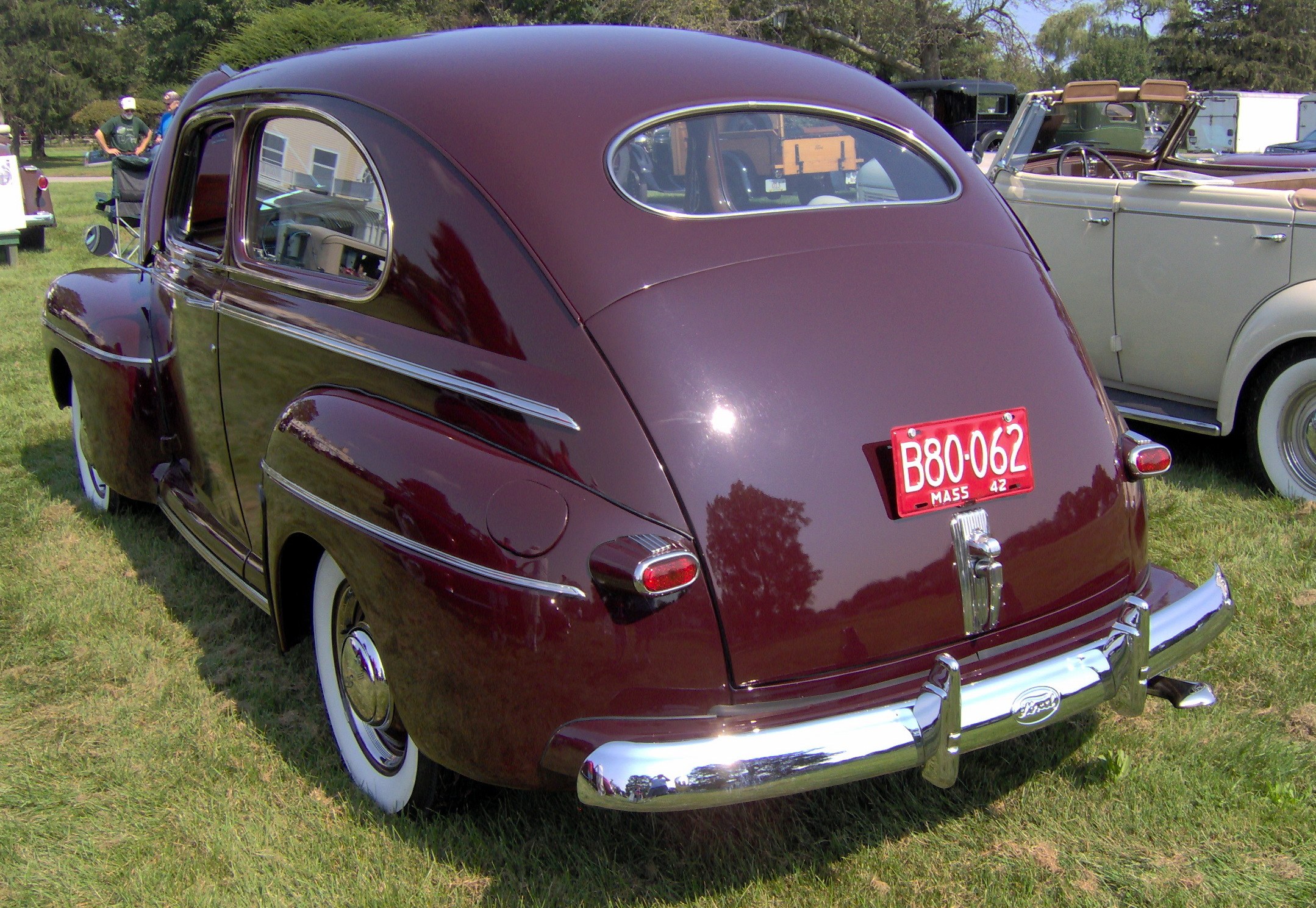 File 1942 Ford Super Deluxe Rear Jpg Wikimedia Commons