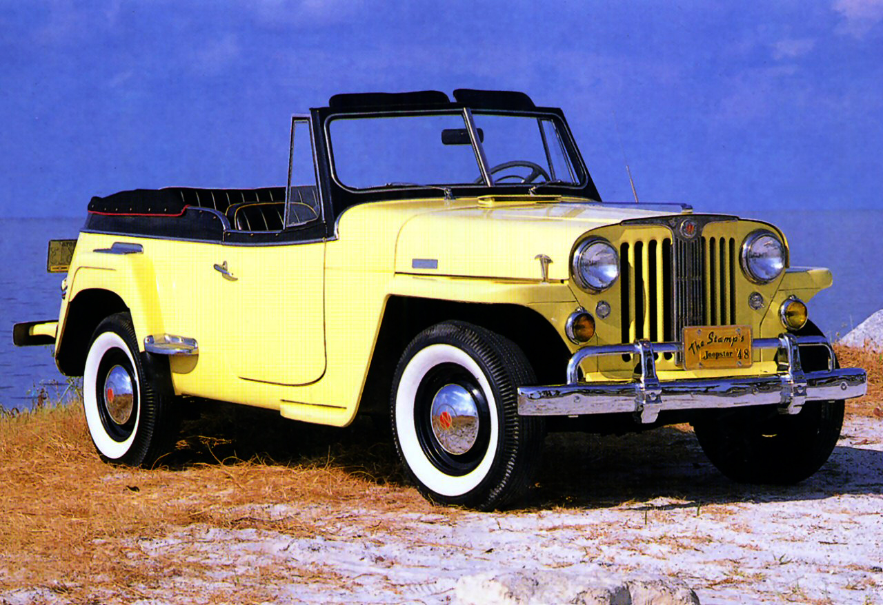 File 1950 Willys Jeepster Jpg Wikimedia Commons