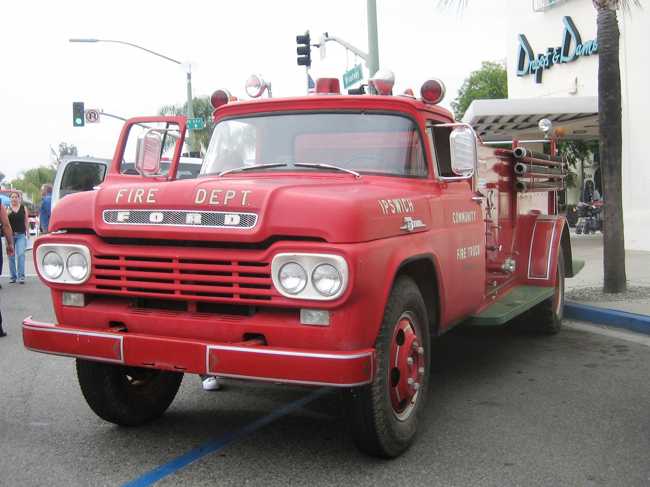 1959 Ford F600 Fire Truck