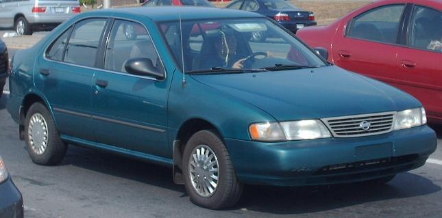 File 1995 1997 Nissan Sentra Jpg Wikimedia Commons