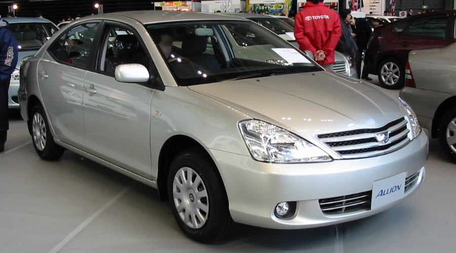 File 2001 Toyota Allion 01 Jpg Wikimedia Commons
