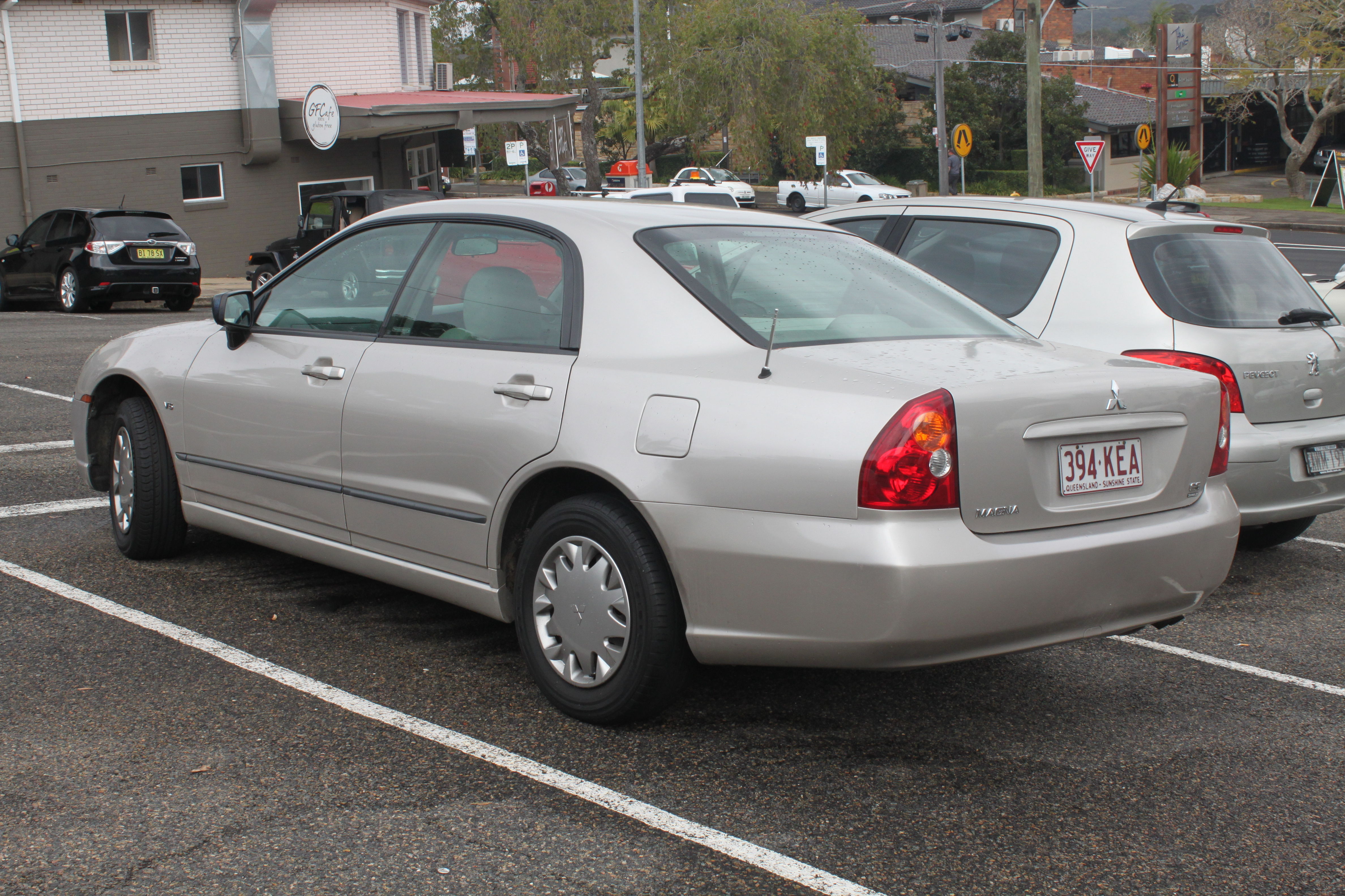 2005 mitsubishi magna