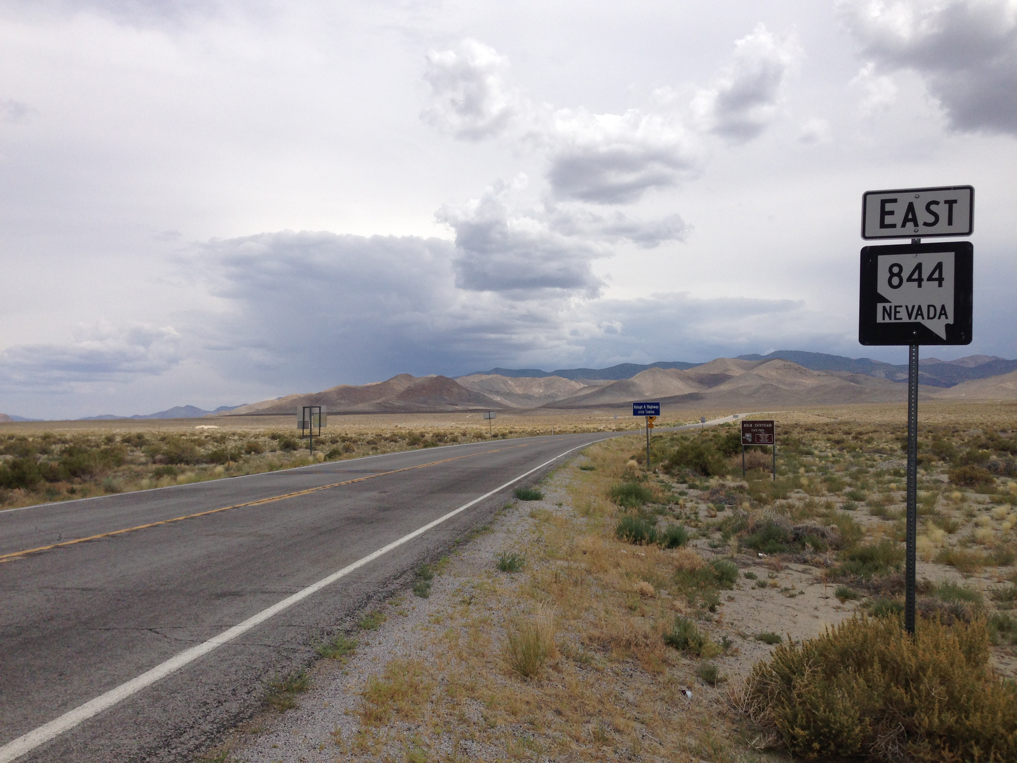 Nevada State Route 844 Quiz