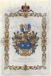 Adelsdiplom Juda Porges von Portheim 1841 - Wappenseite.jpg