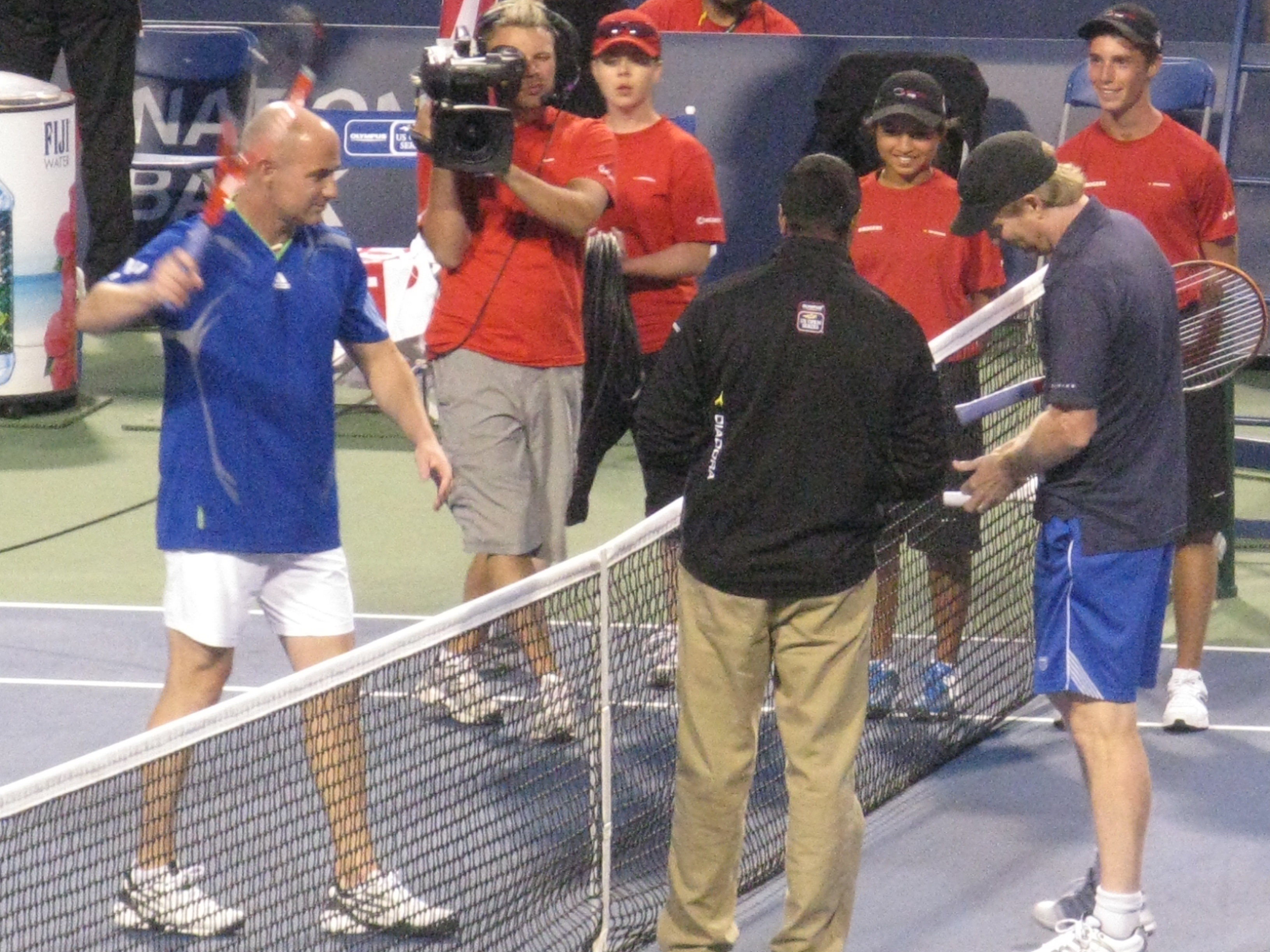 File Andre Agassi and Jim Courier1 Wikimedia mons