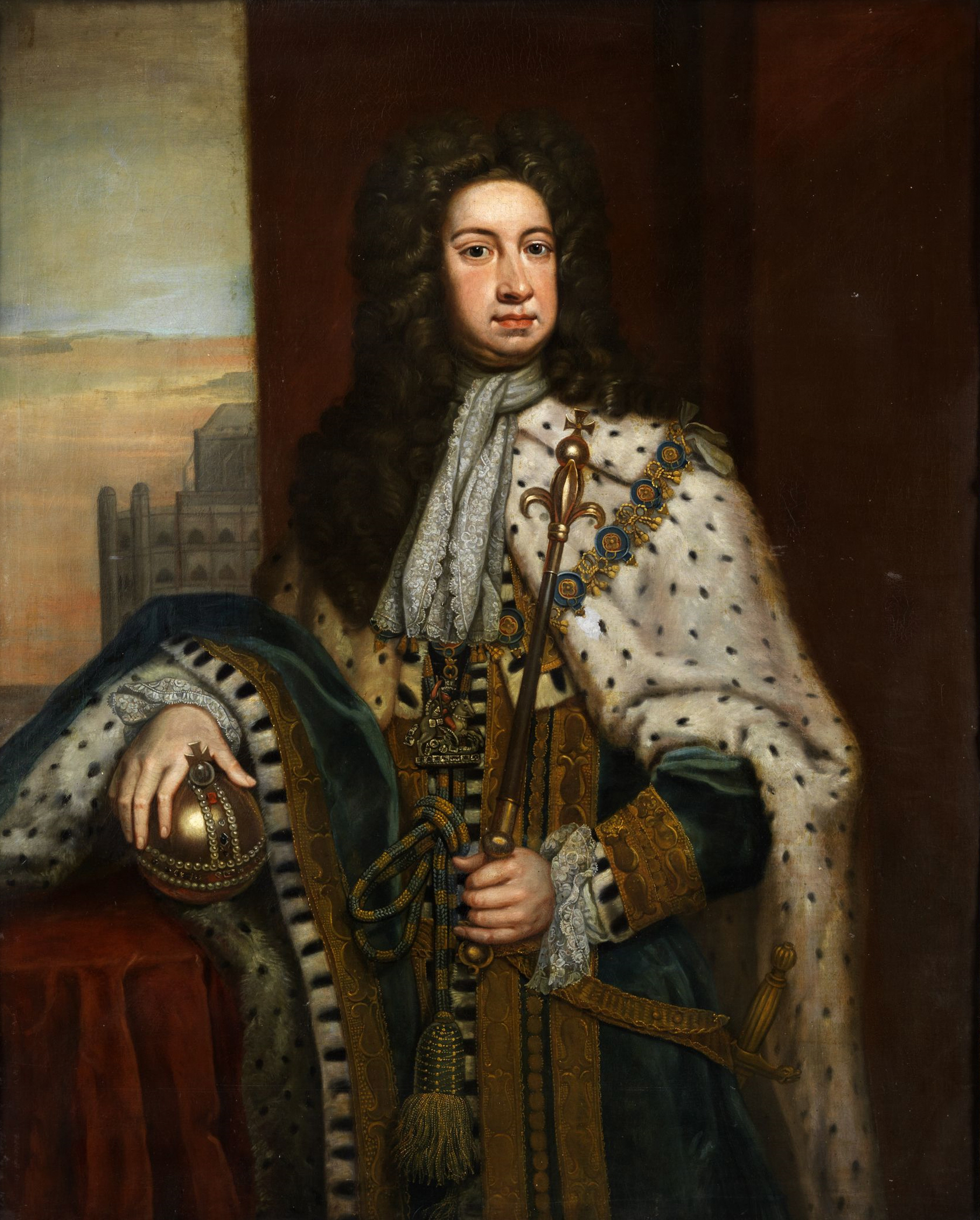 File Anonymous 18th Century Portrait King George I Jpg