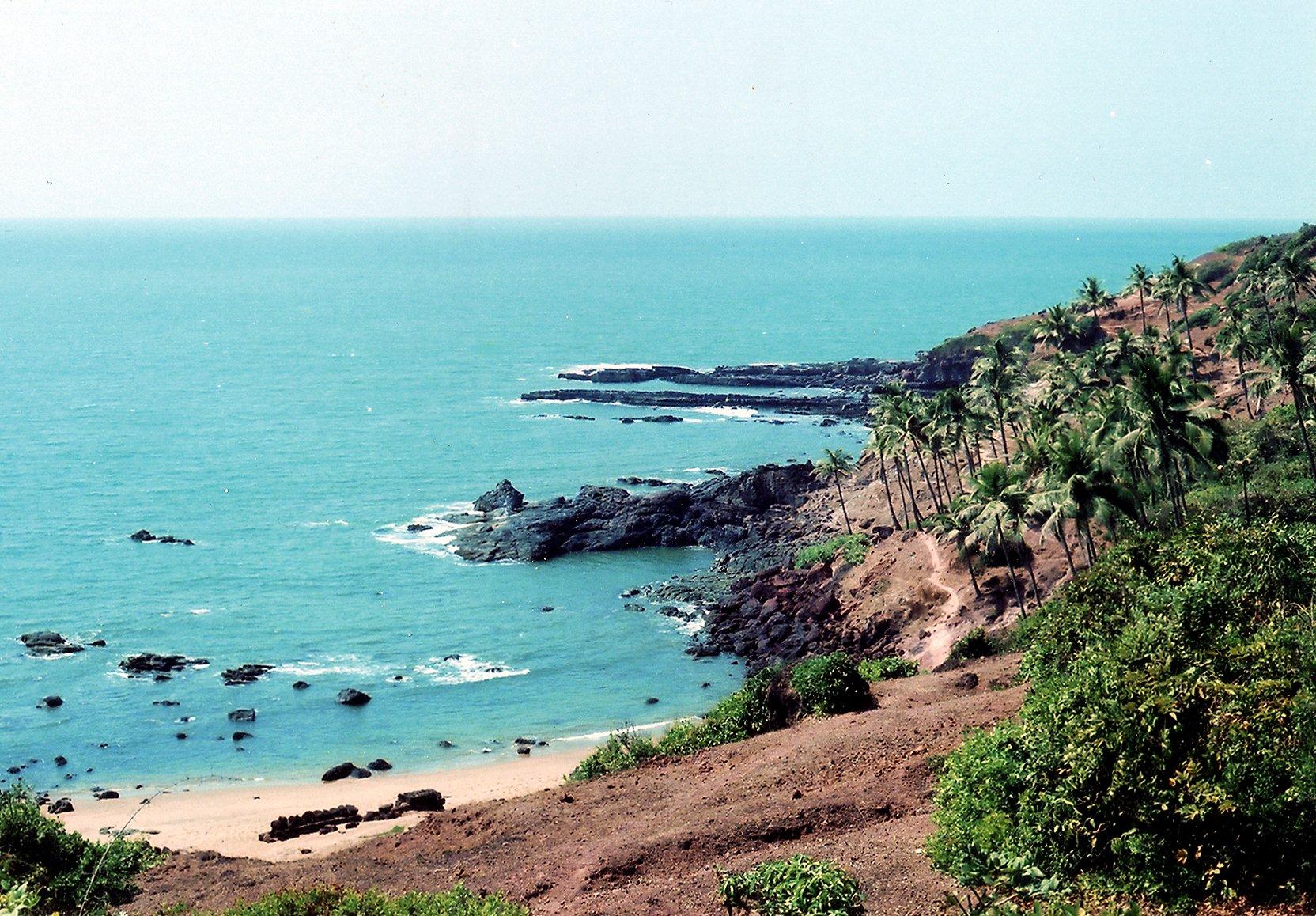 Goa, India beautiful beaches