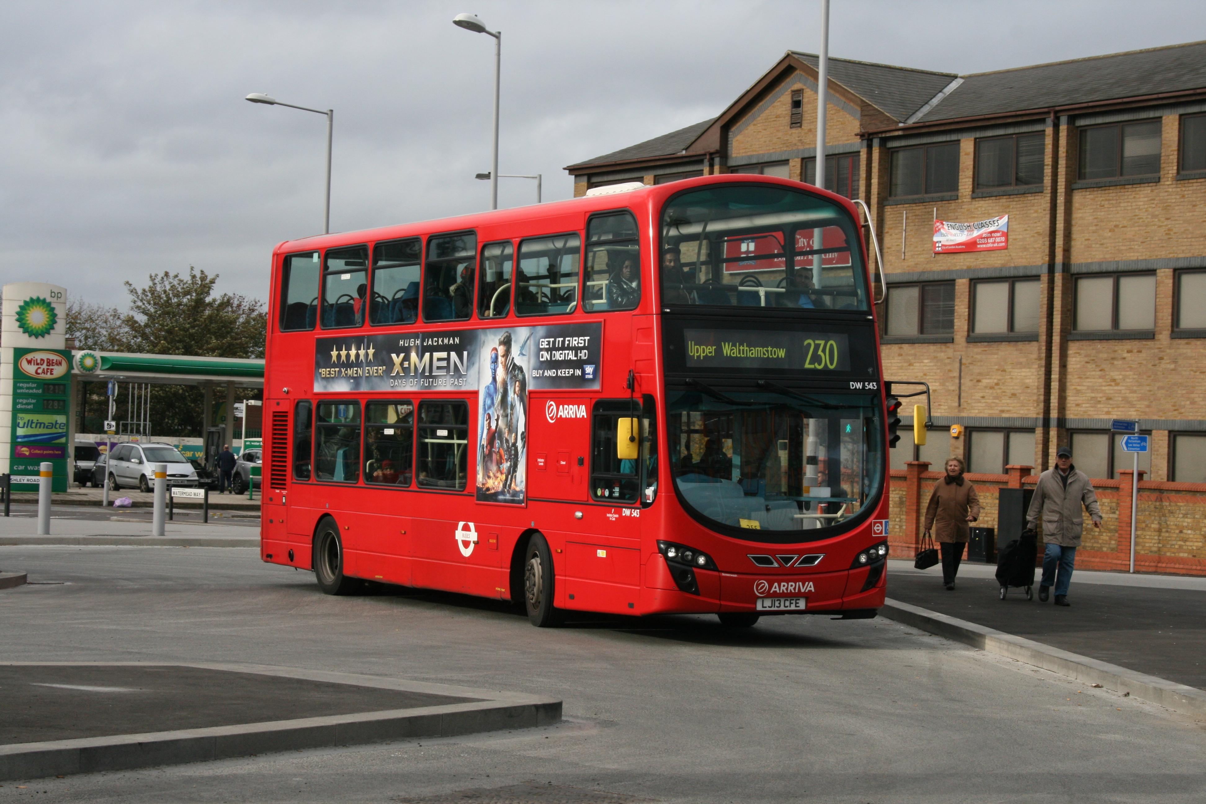 DW543 on Route 230 Tottenham Hale Bus Station  15128589234 jpg KJ9NX2Dk