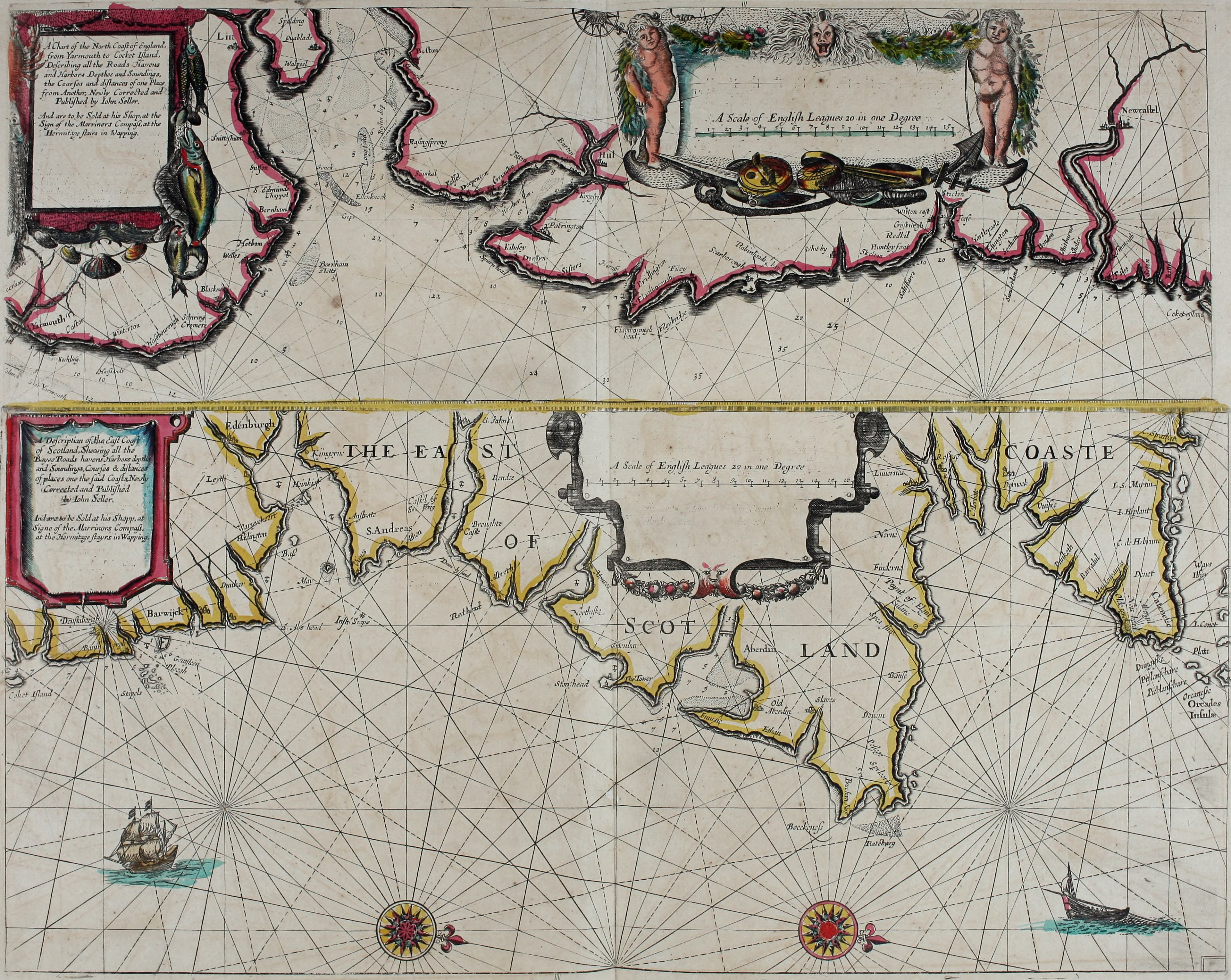 Fileatlas maritimus or a book of charts describeing the sea fileatlas maritimus or a book of charts describeing the sea coasts capes headlands sands shoals rocks and dangers the bayes roads harbors rivers and gumiabroncs Image collections