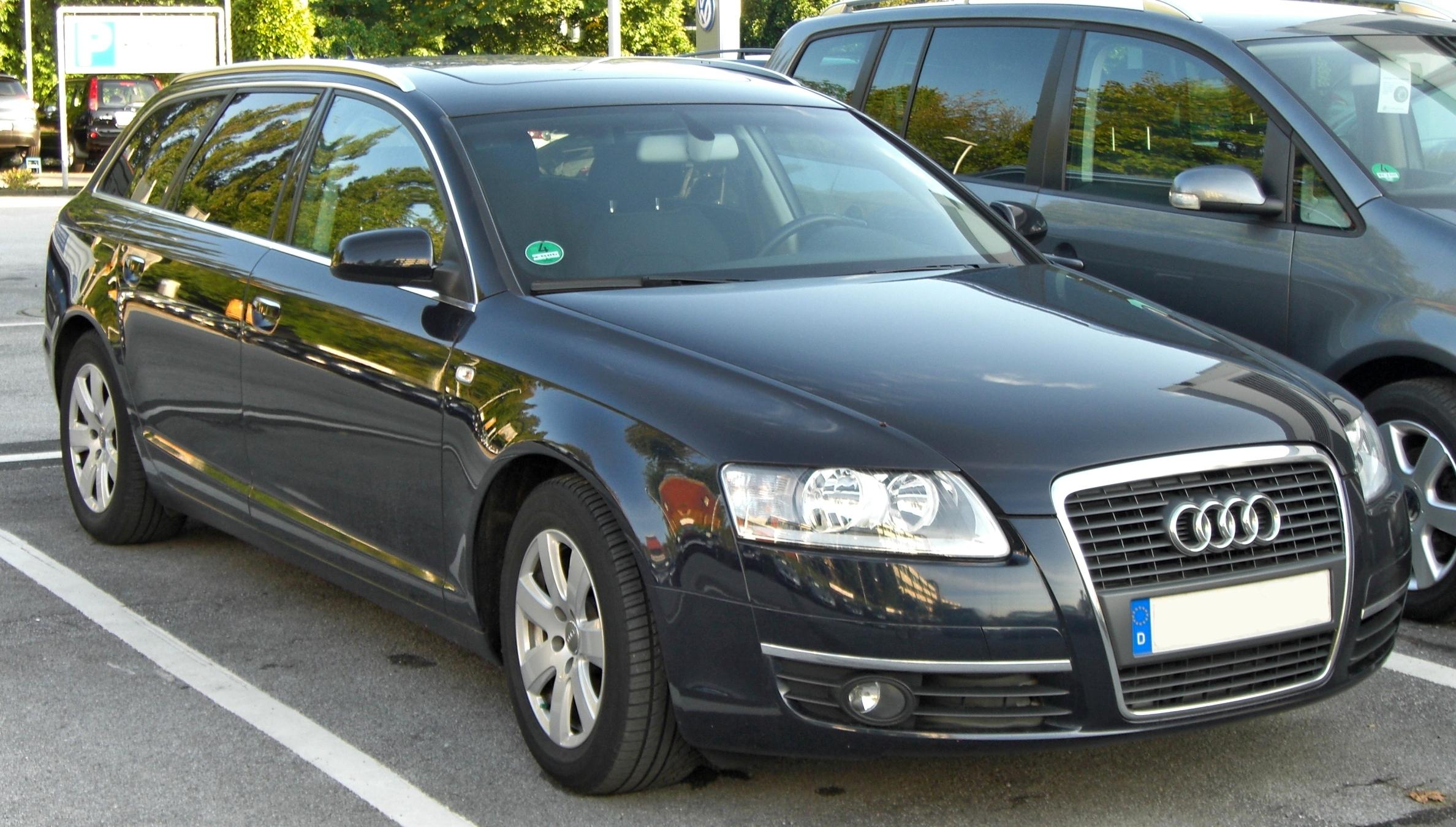 File Audi A6 Avant Front Jpg Wikimedia Commons