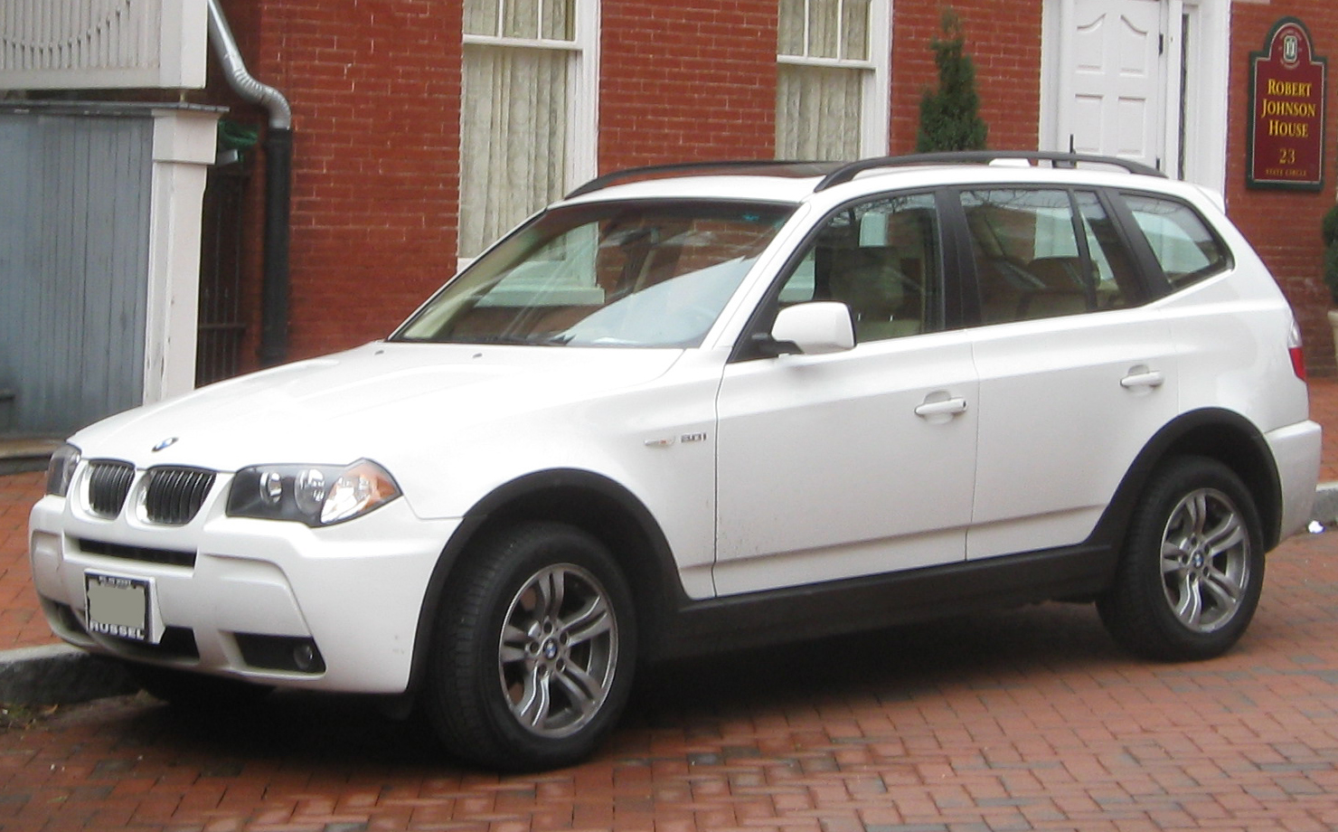 File:BMW X3 3.0i -- 01-22-2010.jpg - Wikimedia Commons