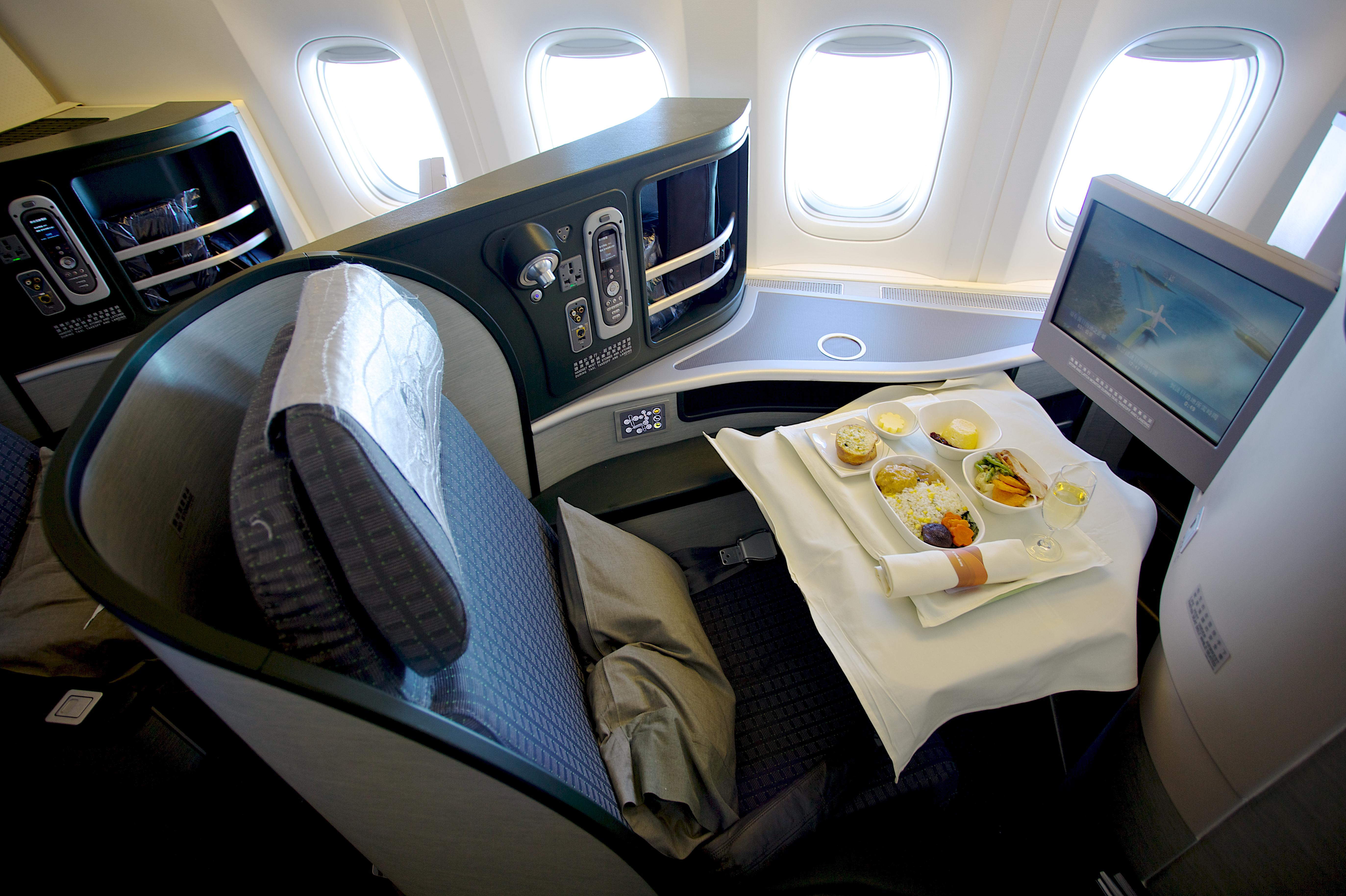 Airline Business Class Cabin