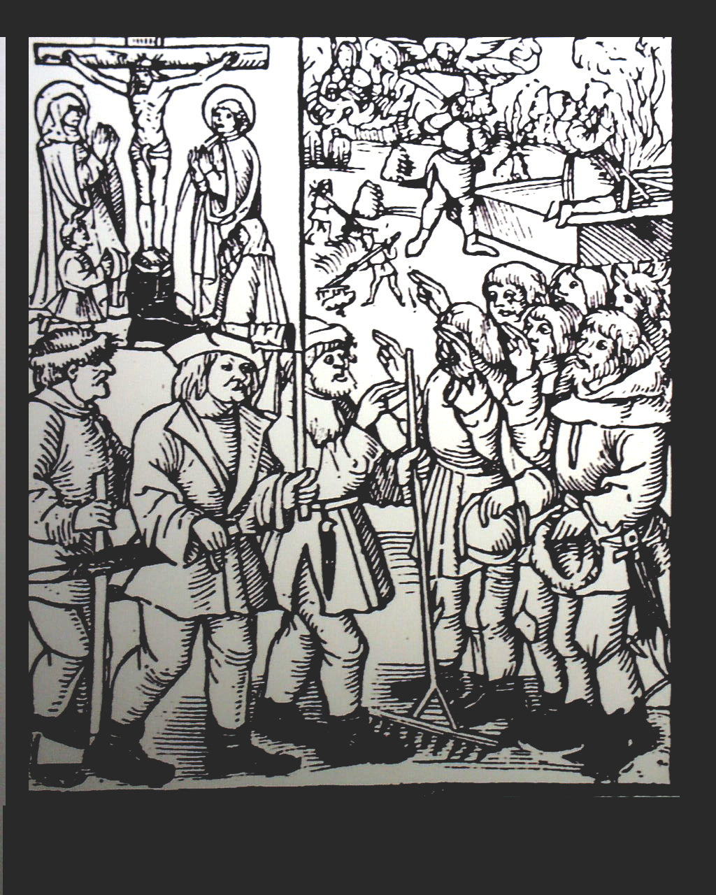 Resultado de imagem para guerras camponesas na alemanha