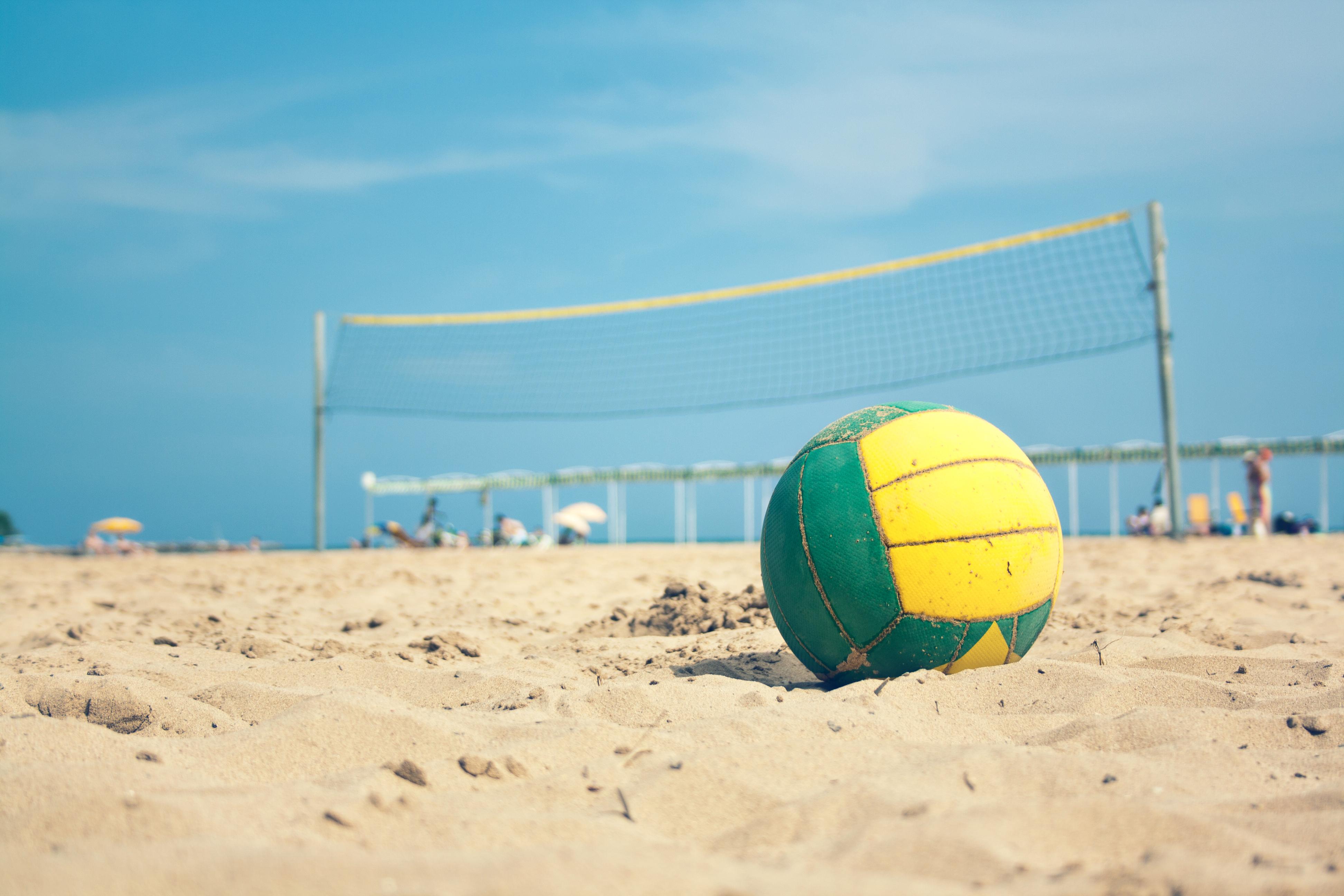 Beach volley � Ixelles