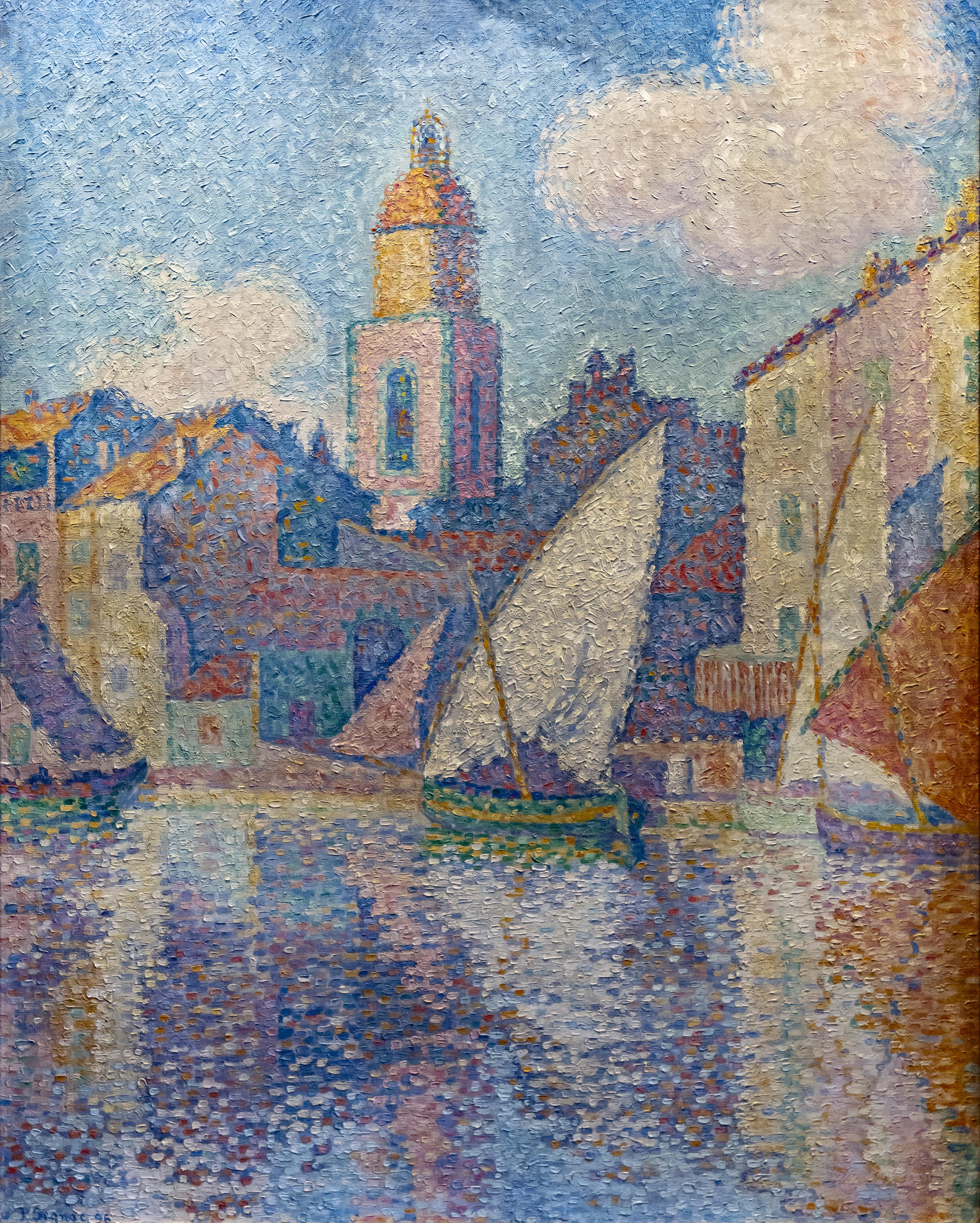 Artiste Peintre St Tropez fichier:bemberg fondation toulouse - le clocher de saint