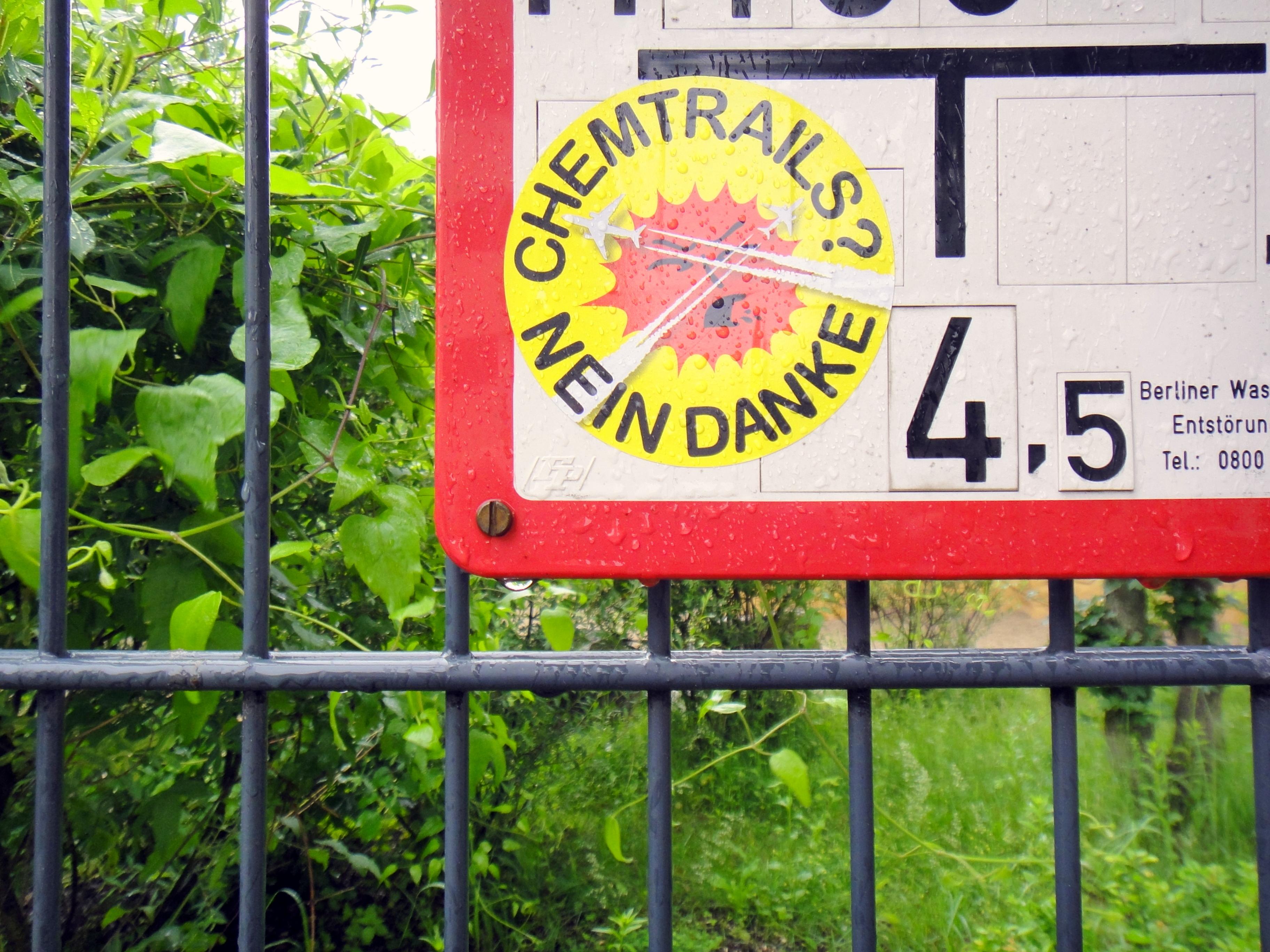 Chemtrails Berlin