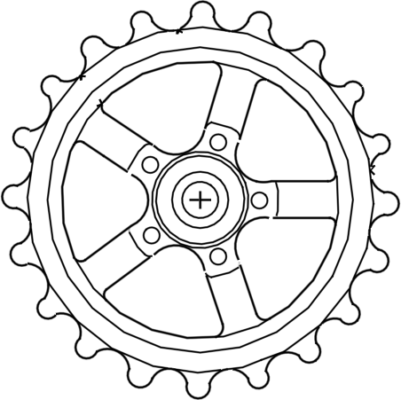 motorcycle parts with File Bike Sprocket Main on B00csv4g0e further Car Engine Symbol Stylized Vector Silhouette 270465263 together with Watch further 2002 Honda Cr V Starting System Circuit And Schematic Diagram in addition 4.