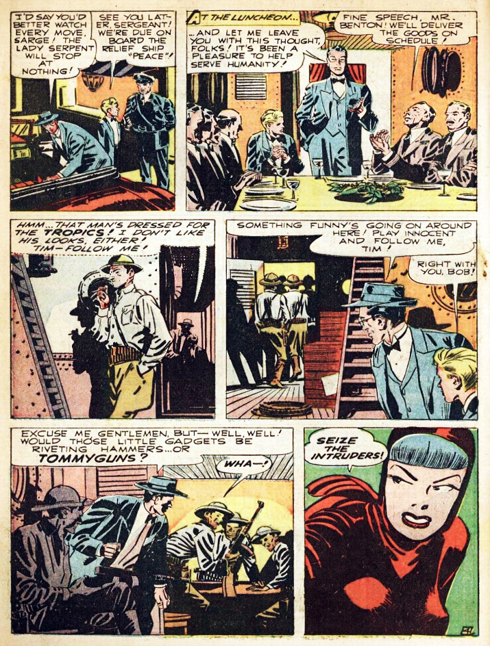 BlackTerror2406.jpg English: The Black Terror #24, Page 6 September, 1948 Date September 1948 Source Unknown source Author Mort Meskin (pencils)