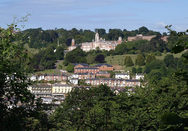 Britannia Royal Naval College from Hoodown - geograph.org.uk - 1367600