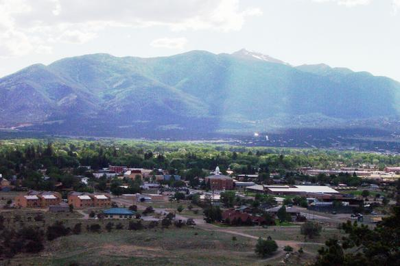 Buena Vista at the foot of the Collegiate Peaks