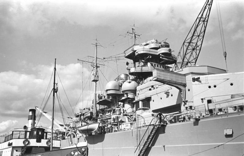Entfernungsmesser Schlachtschiff : Datei bundesarchiv bild a schlachtschiff bismarck g