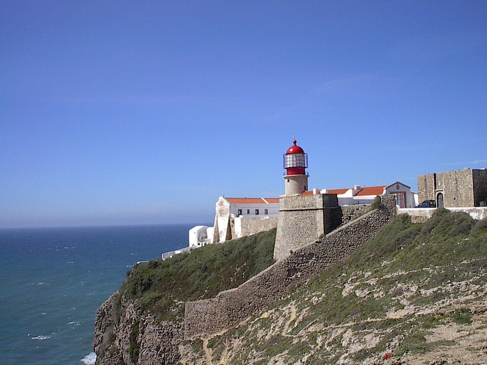 Lijst van vuurtorens en lichtschepen wikipedia - Cabo san vicente portugal ...