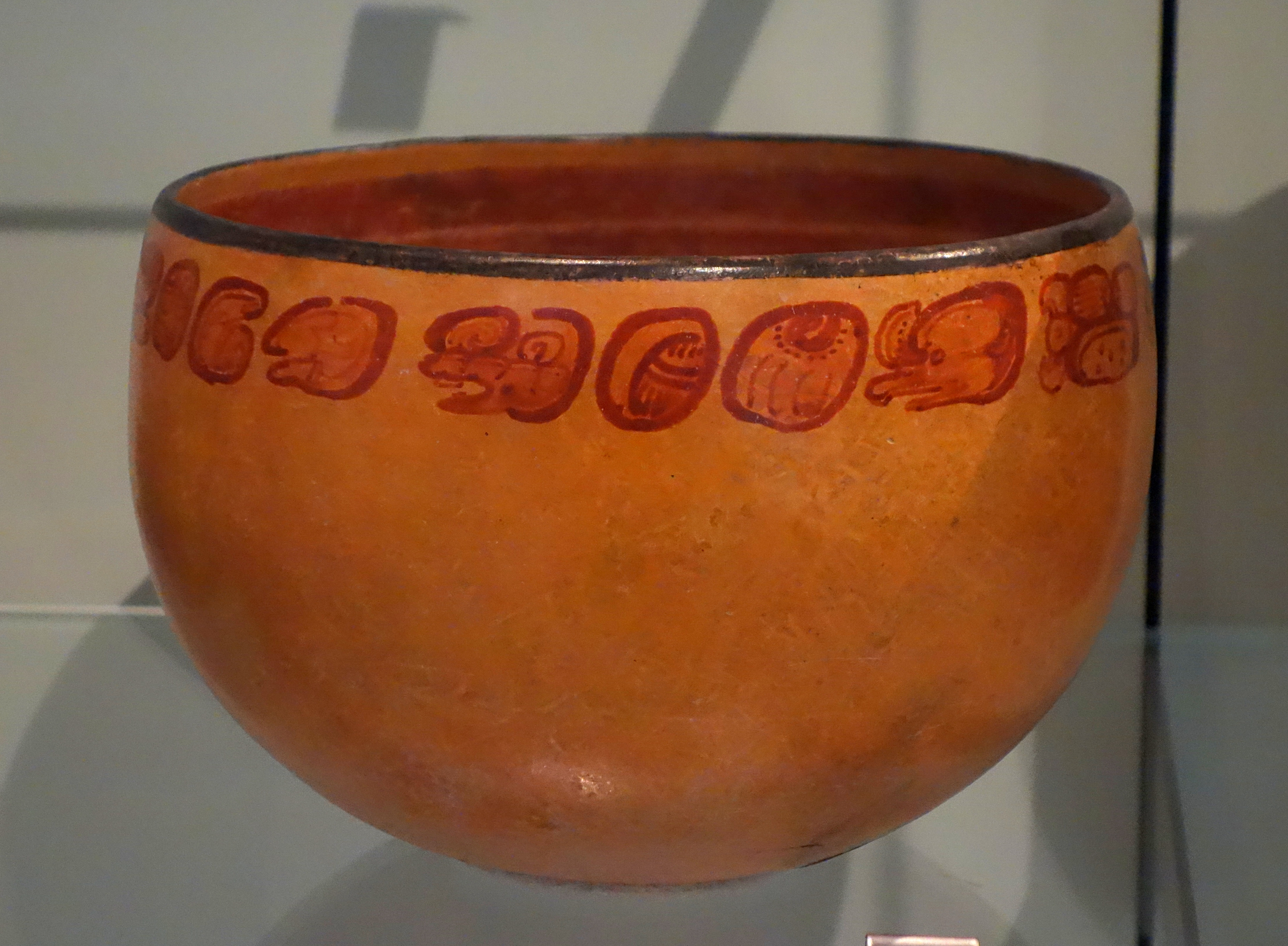 File Cacao Bowl Presented To The Ruler Of Tikal In