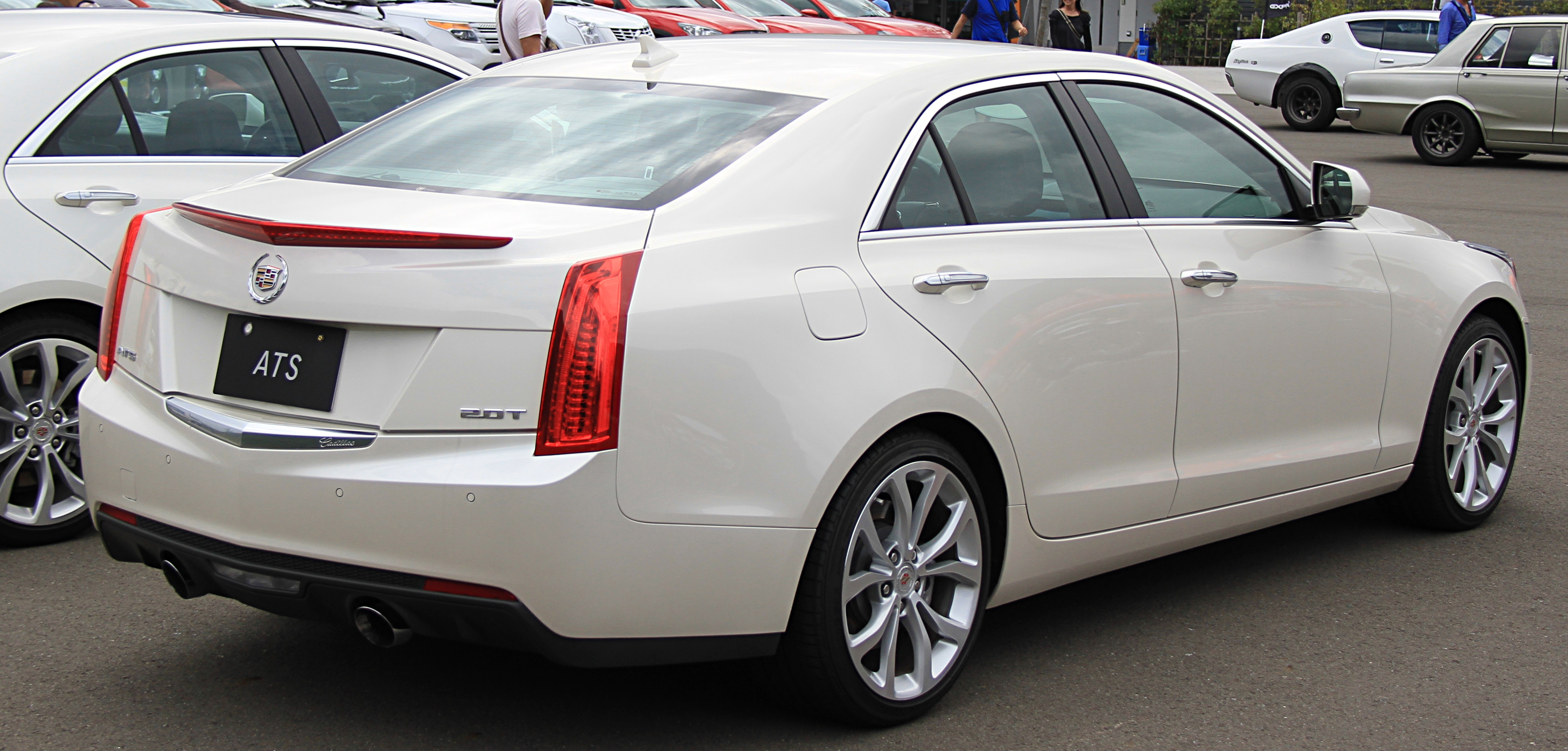 File Cadillac Ats Rear View Jpg Wikimedia Commons
