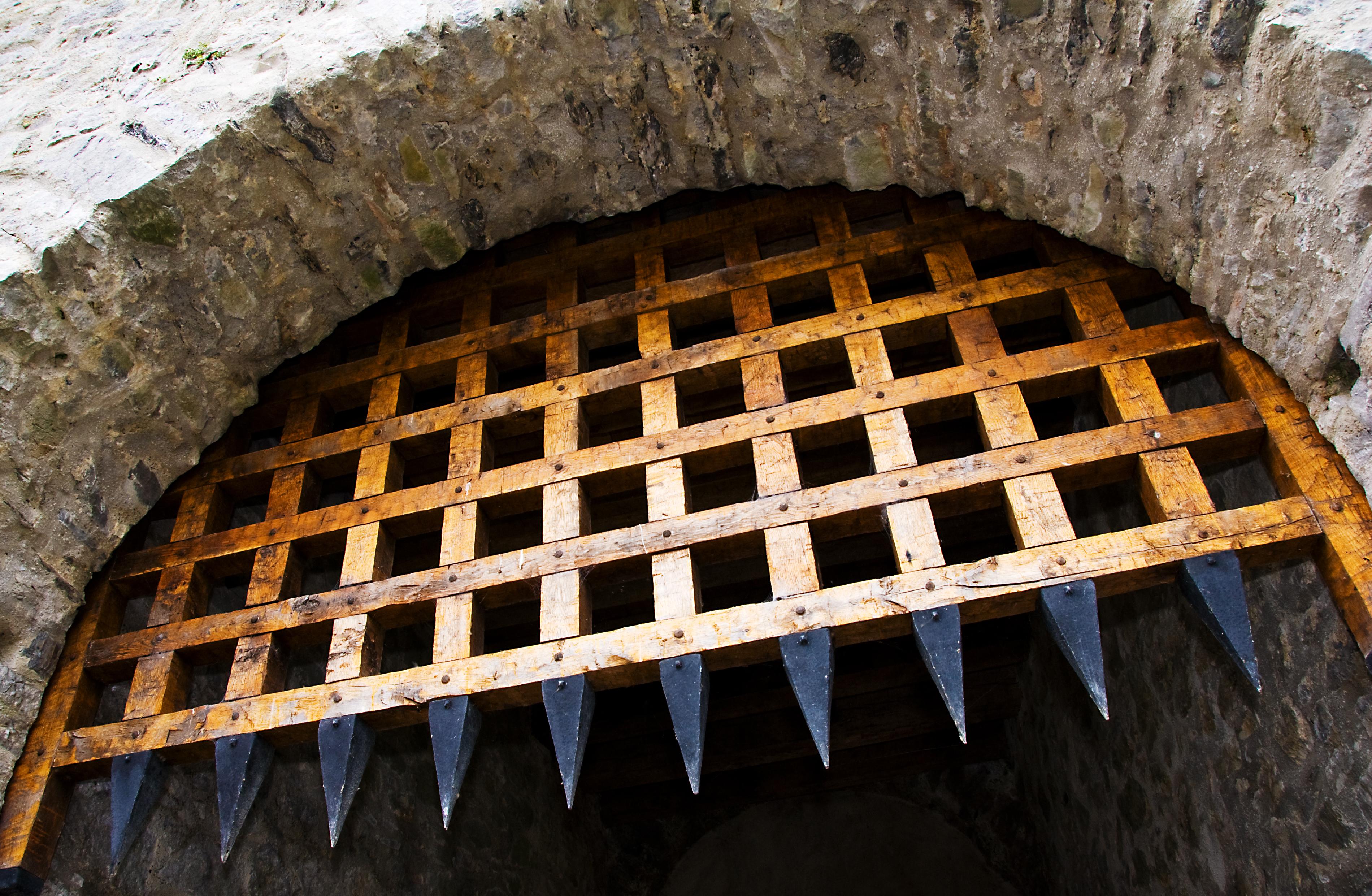 Image result for portcullis on a castle