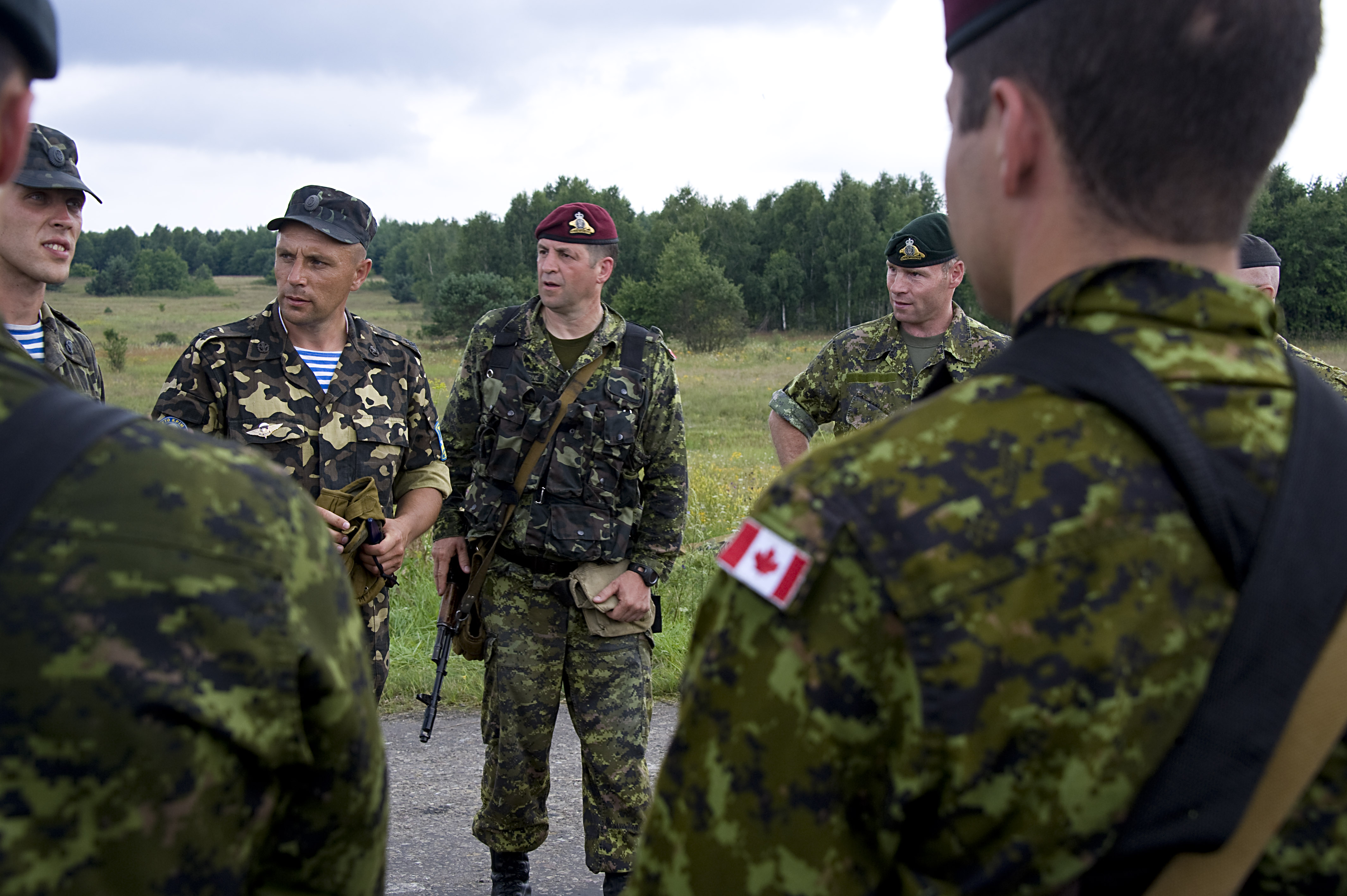 canada and military relationship