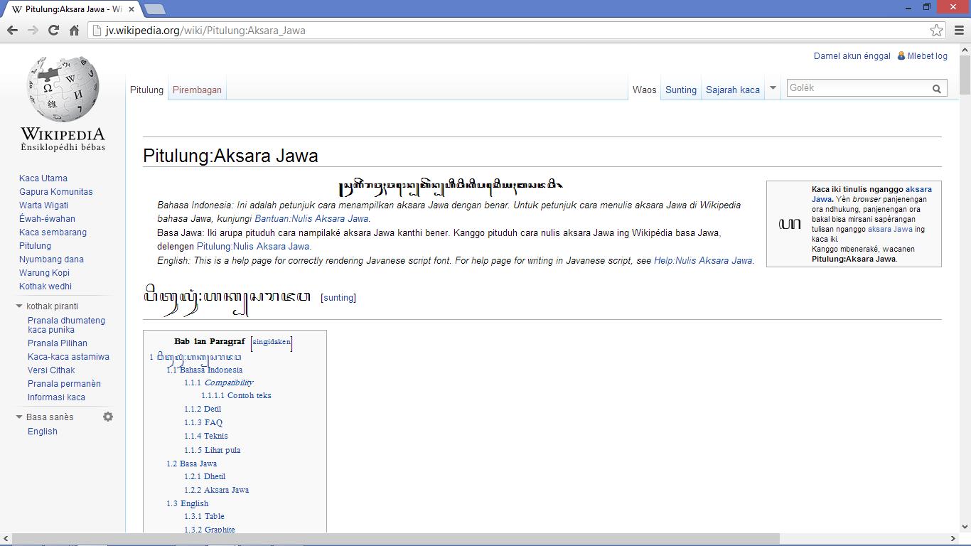 Pitulung Aksara Jawa Wikiwand