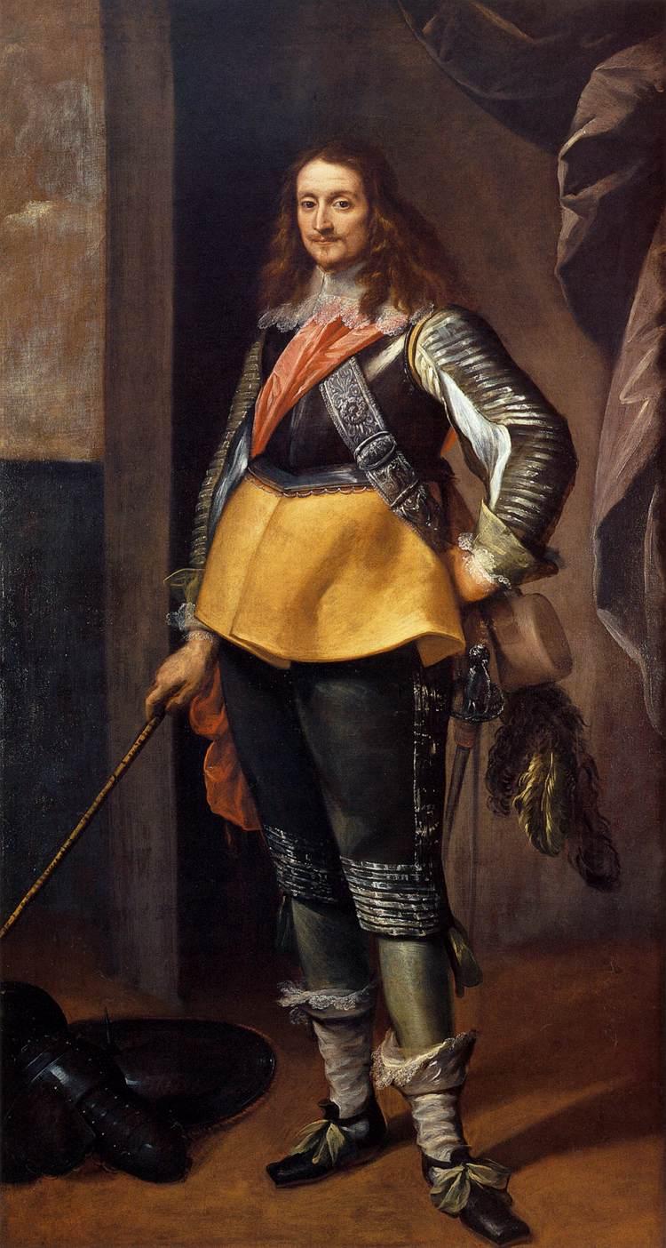 Карло Франческо Нуволоне - Портрет джентльмена в доспехах - WGA16603.jpg