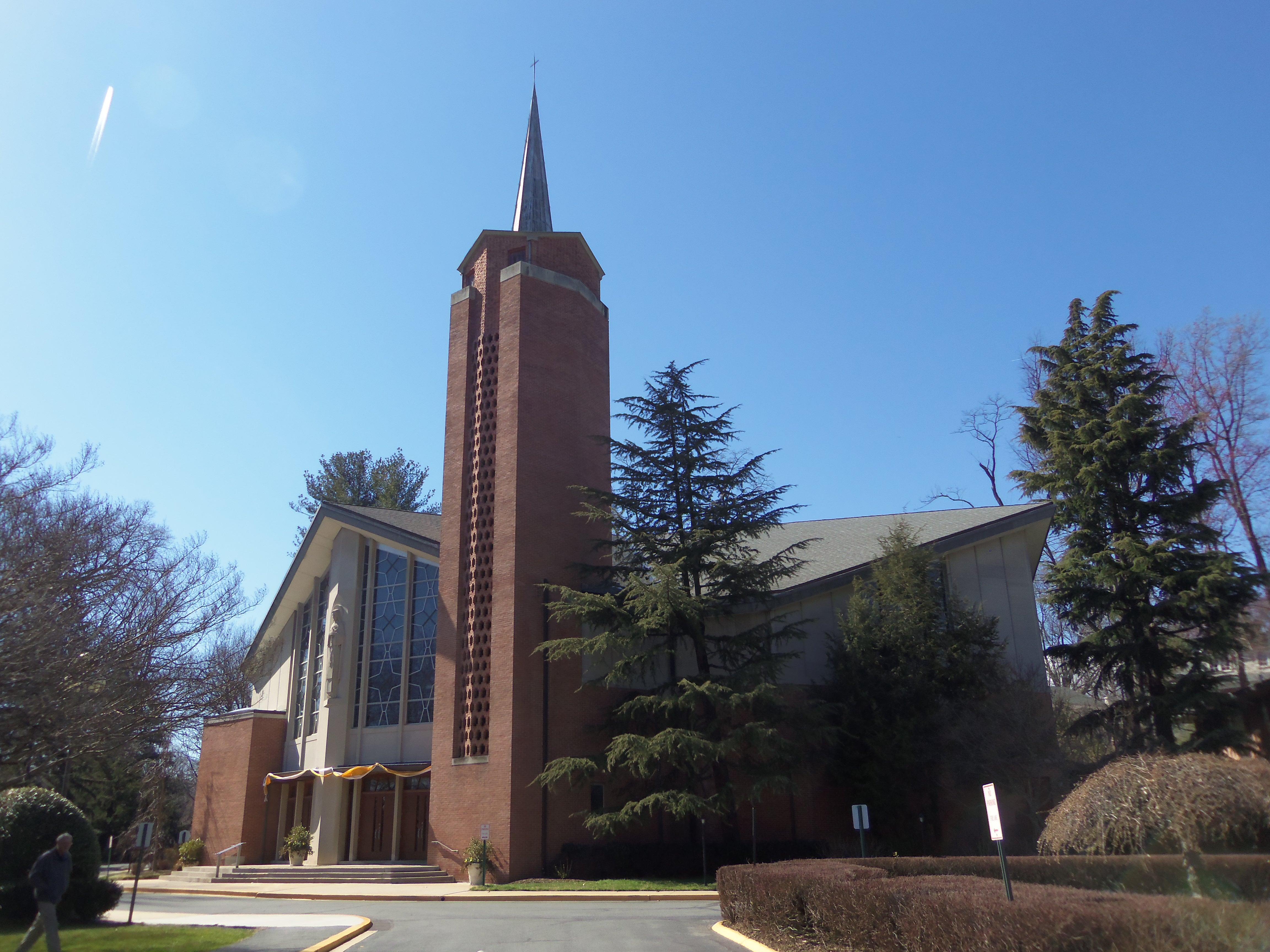 File Church of the Little Flower Bethesda 02 JPG Wikimedia mons