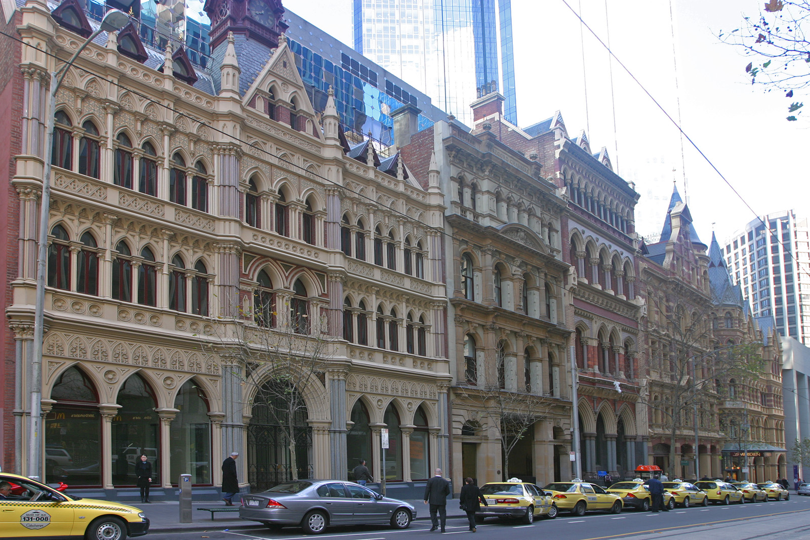 File Collins St Architecture Jpg Wikimedia Commons