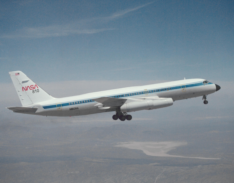 File:convair_990_in_flight_ec93 41018 11on Aircraft Nose Landing Gear Systems