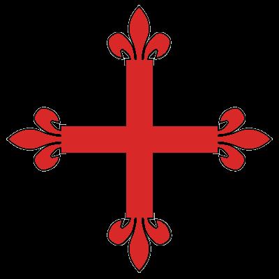 Croix Fleur De Lys E Geules