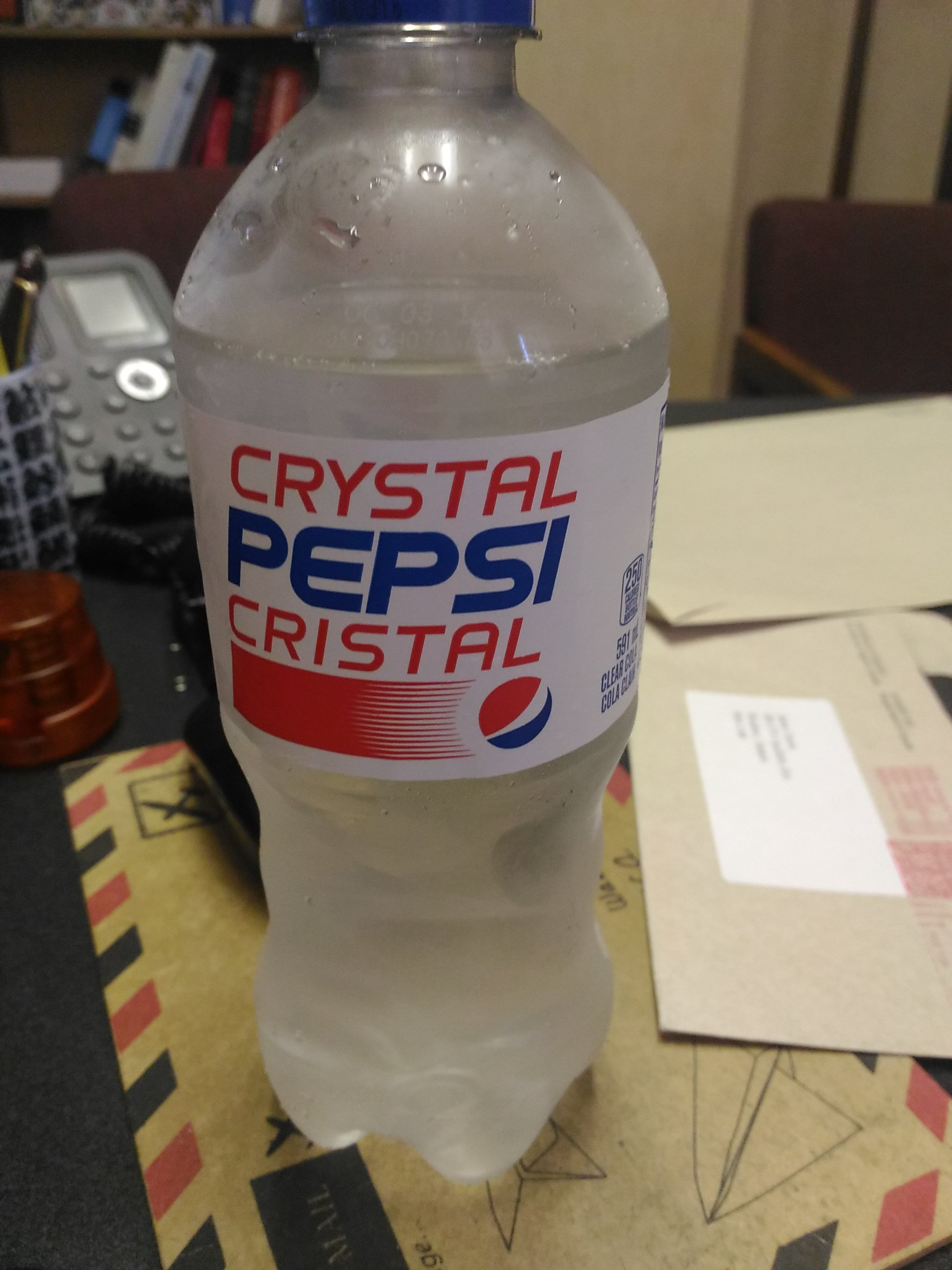 where is crystal pepsi sold