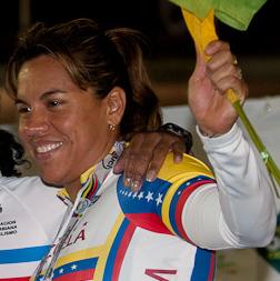 Daniela Larreal Venezuelan cyclist