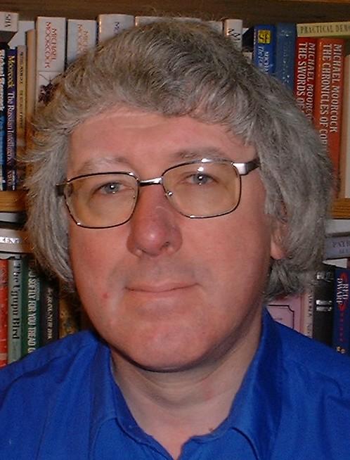 Depiction of David Langford