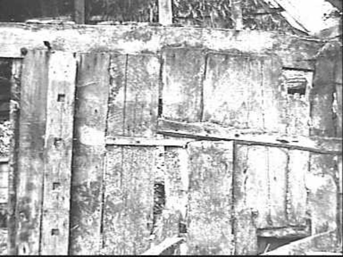 File detail houten wand nr f 83 36 schoonebeek 20446086 wikimedia commons - Kleden houten wand ...