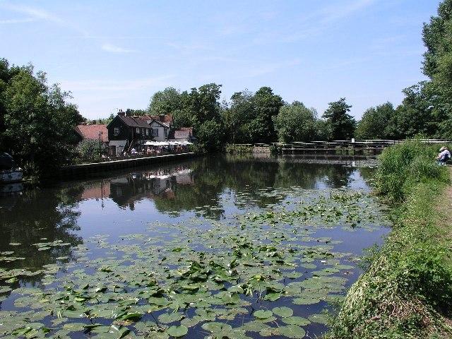 Dobb's Weir, Nazeing. - geograph.org.uk - 26831